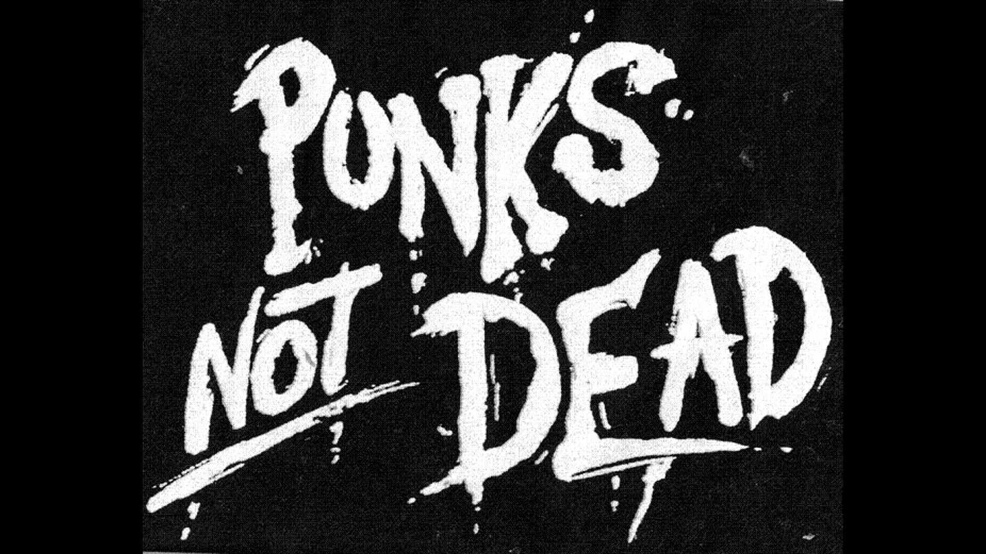 1920x1080 The Exploited - Punk's Not Dead (Backingtrack)