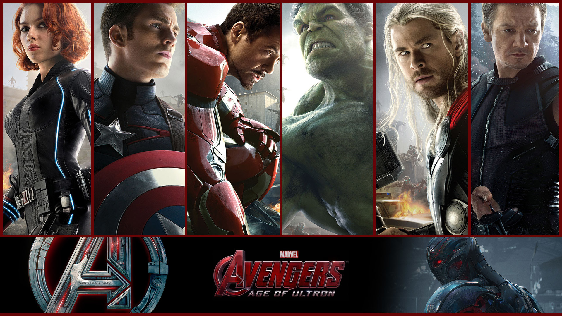 1920x1080 Avengers Age of Ultron 2015 Heroes Wallpaper HD