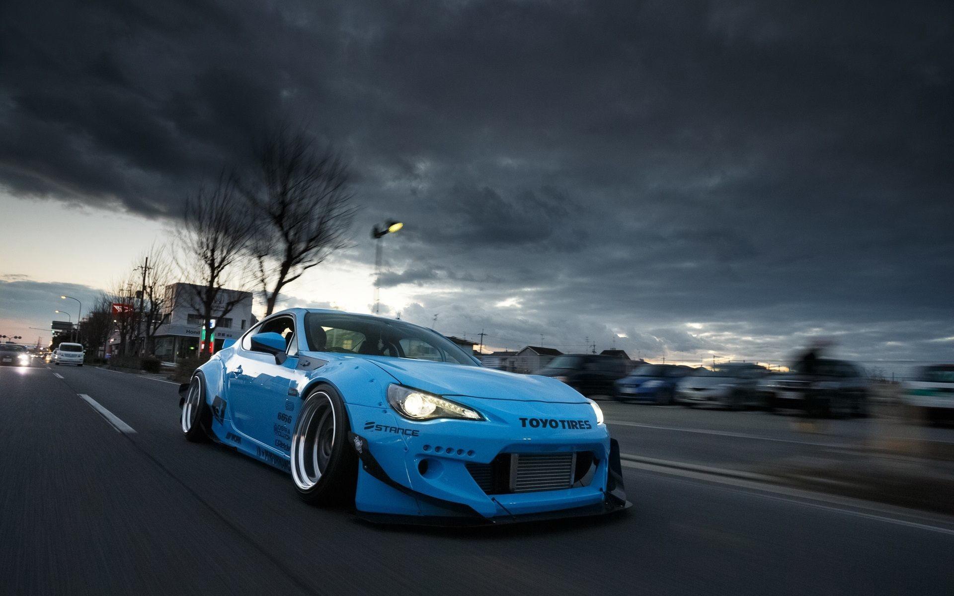 Blue Car Wallpaper 71 Images