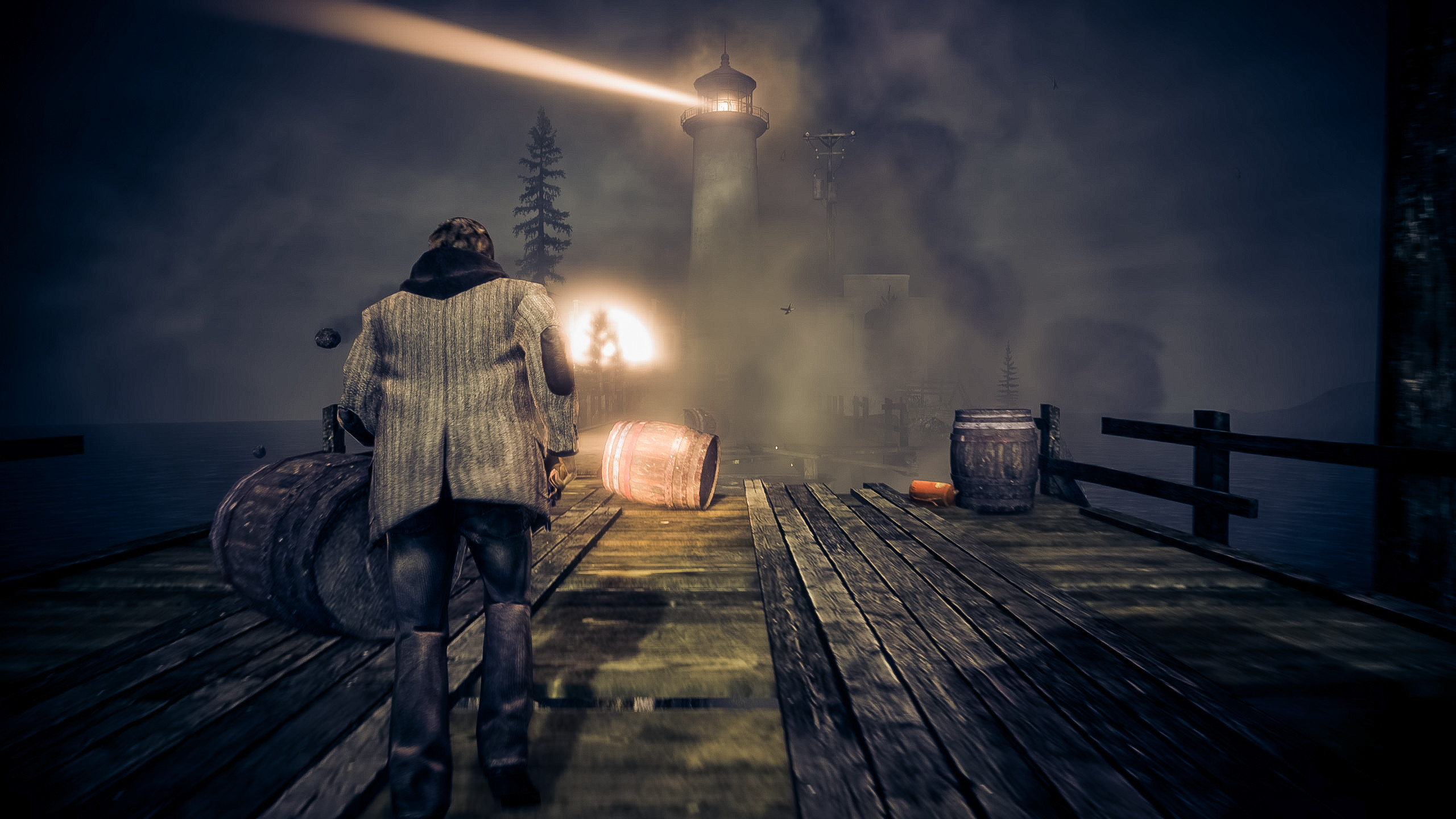 2560x1440 Alan Wake - Lighthouse by wolfleben Alan Wake - Lighthouse by wolfleben