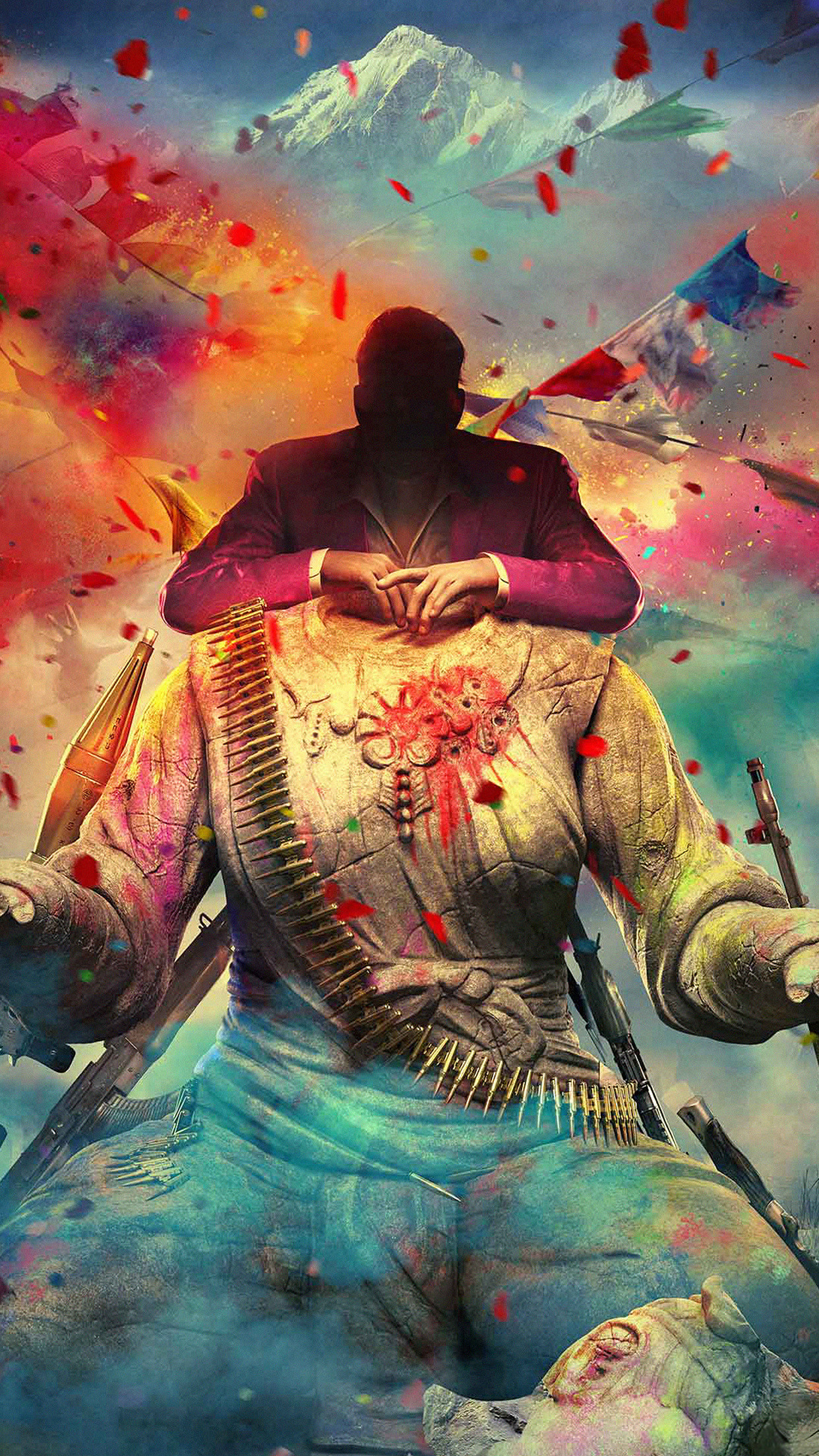 1242x2208 Far Cry 4 Game Digital Art Android Wallpaper