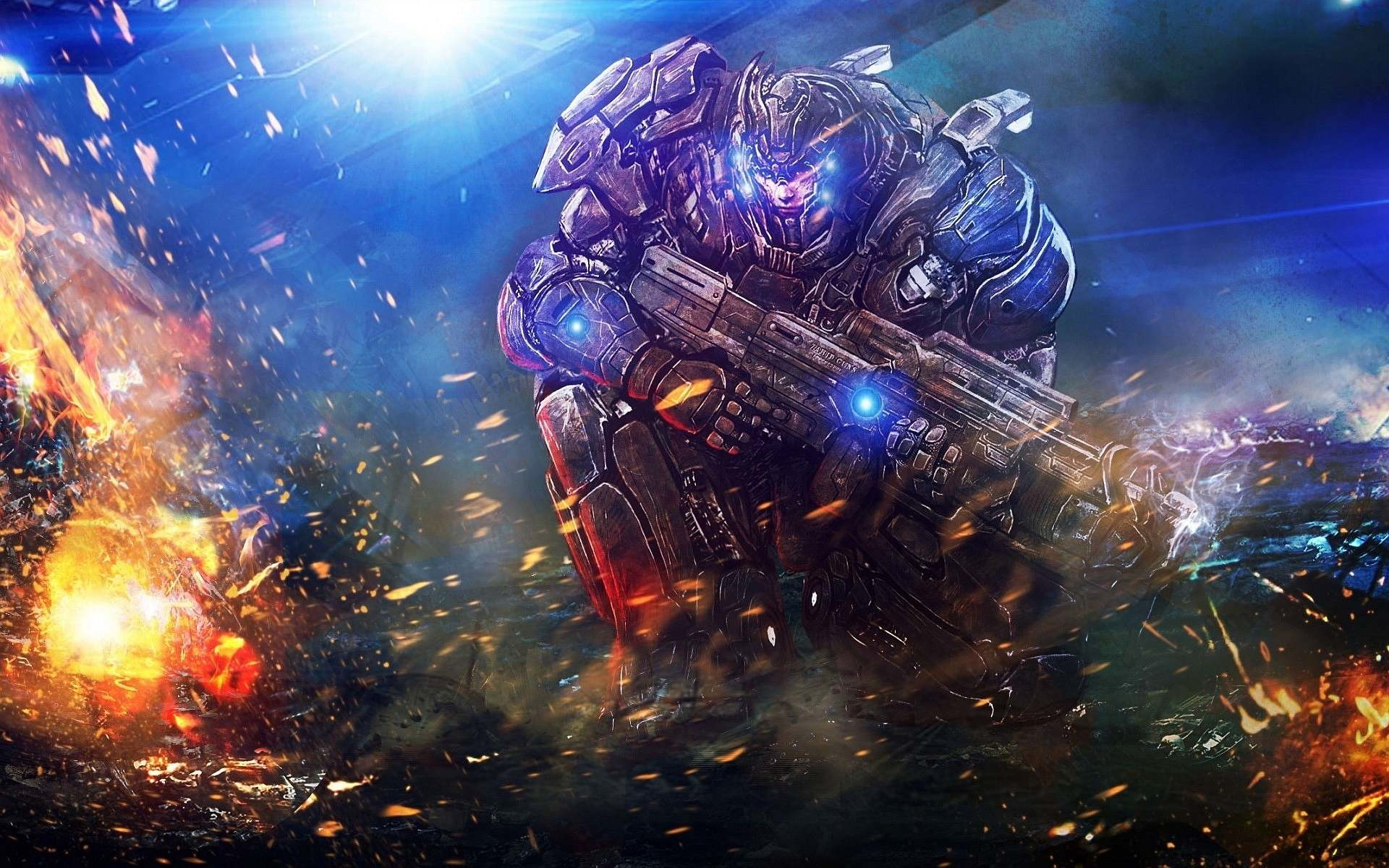 1920x1200 Space Marine Desktop Wallpaper, Space Marine Images, New Wallpapers
