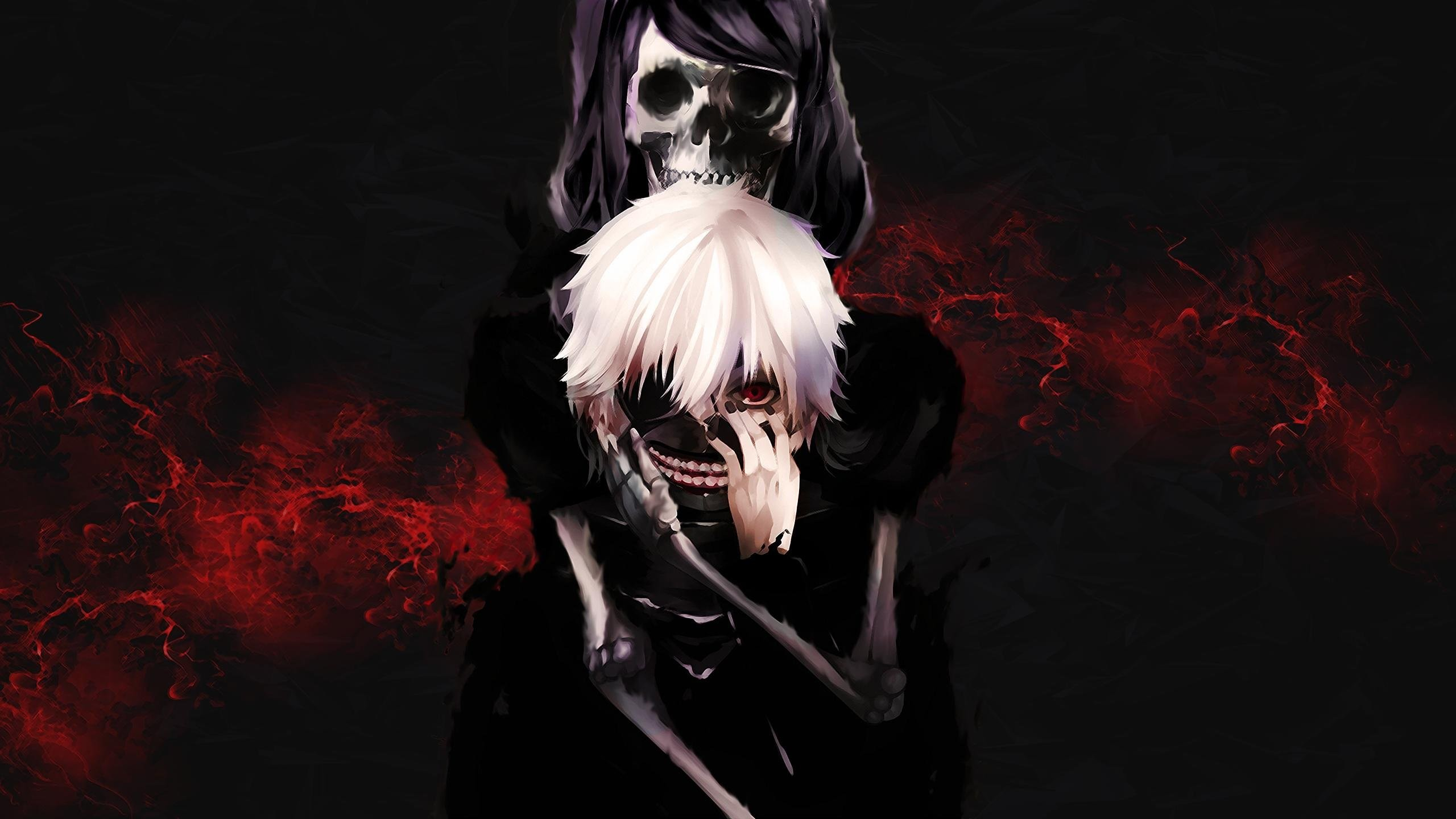 Tokyo ghoul kaneki wallpaper 73 images - Anime background for youtube ...