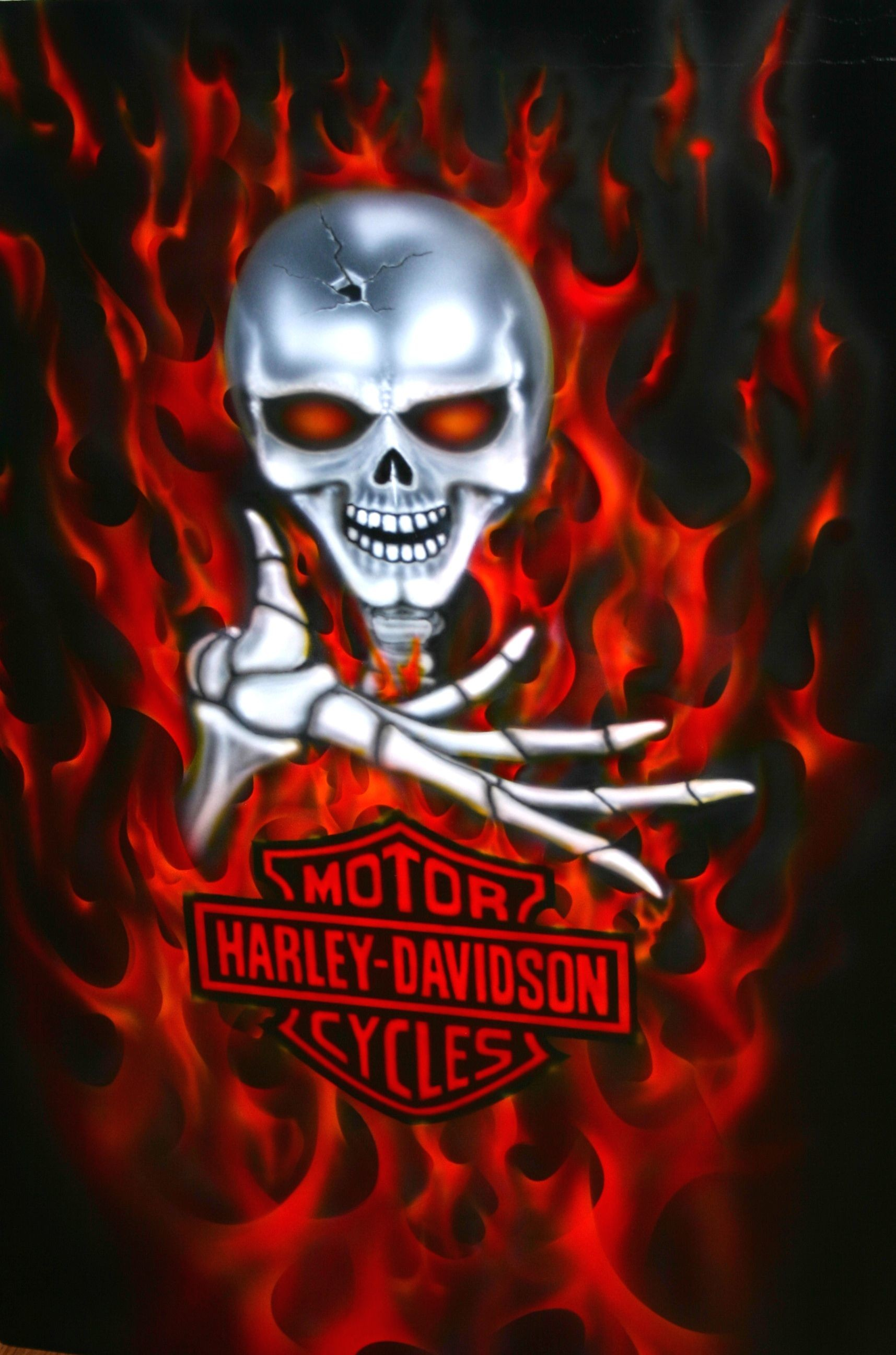 1715x2592 Harley Skull HD Walls Find Wallpapers