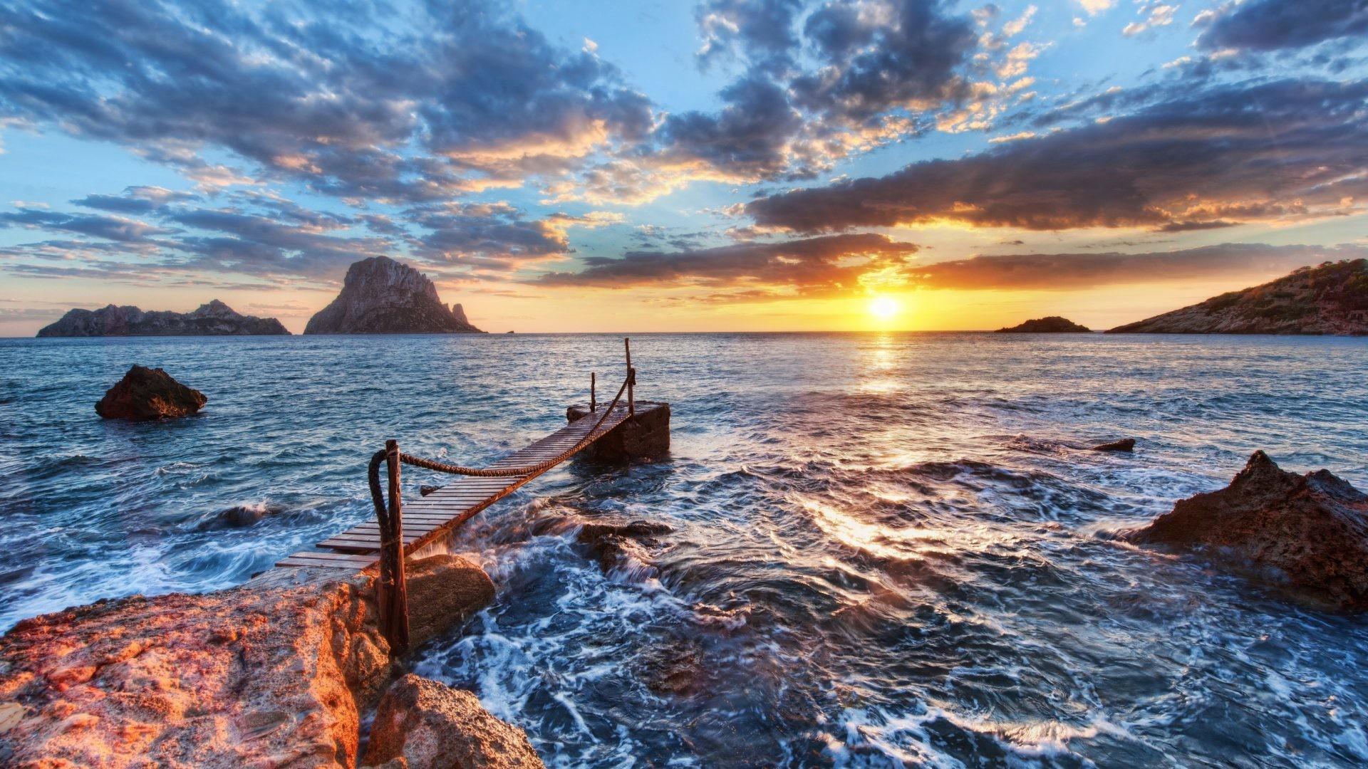1920x1080 Sun Waves Cliff Clouds Sky Sea Sunset Summer Desktop Wallpaper ·  Download · 1536x2048 You .