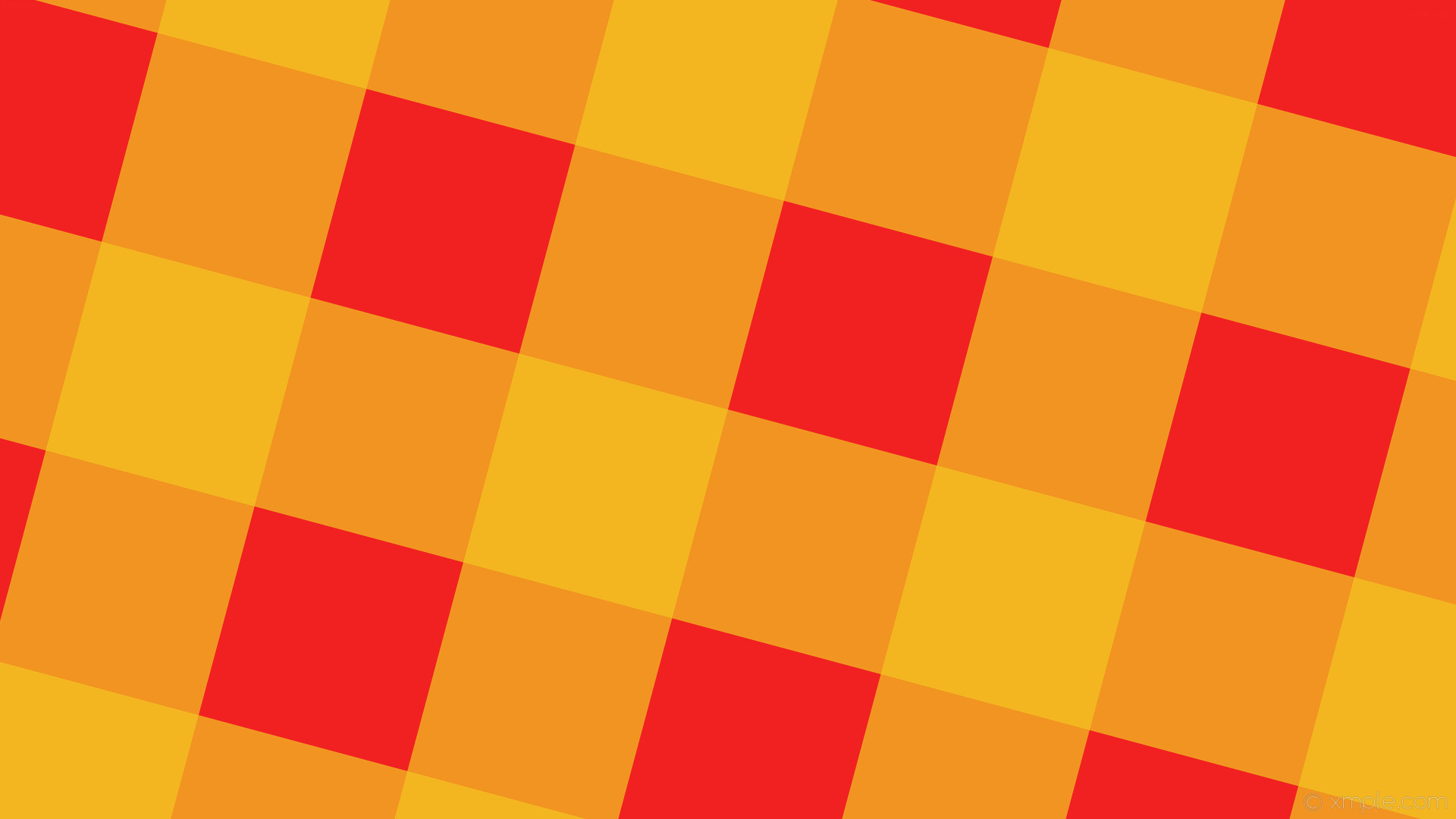 1920x1080 wallpaper striped checker gingham yellow red #f22121 #f2c421 255° 285px