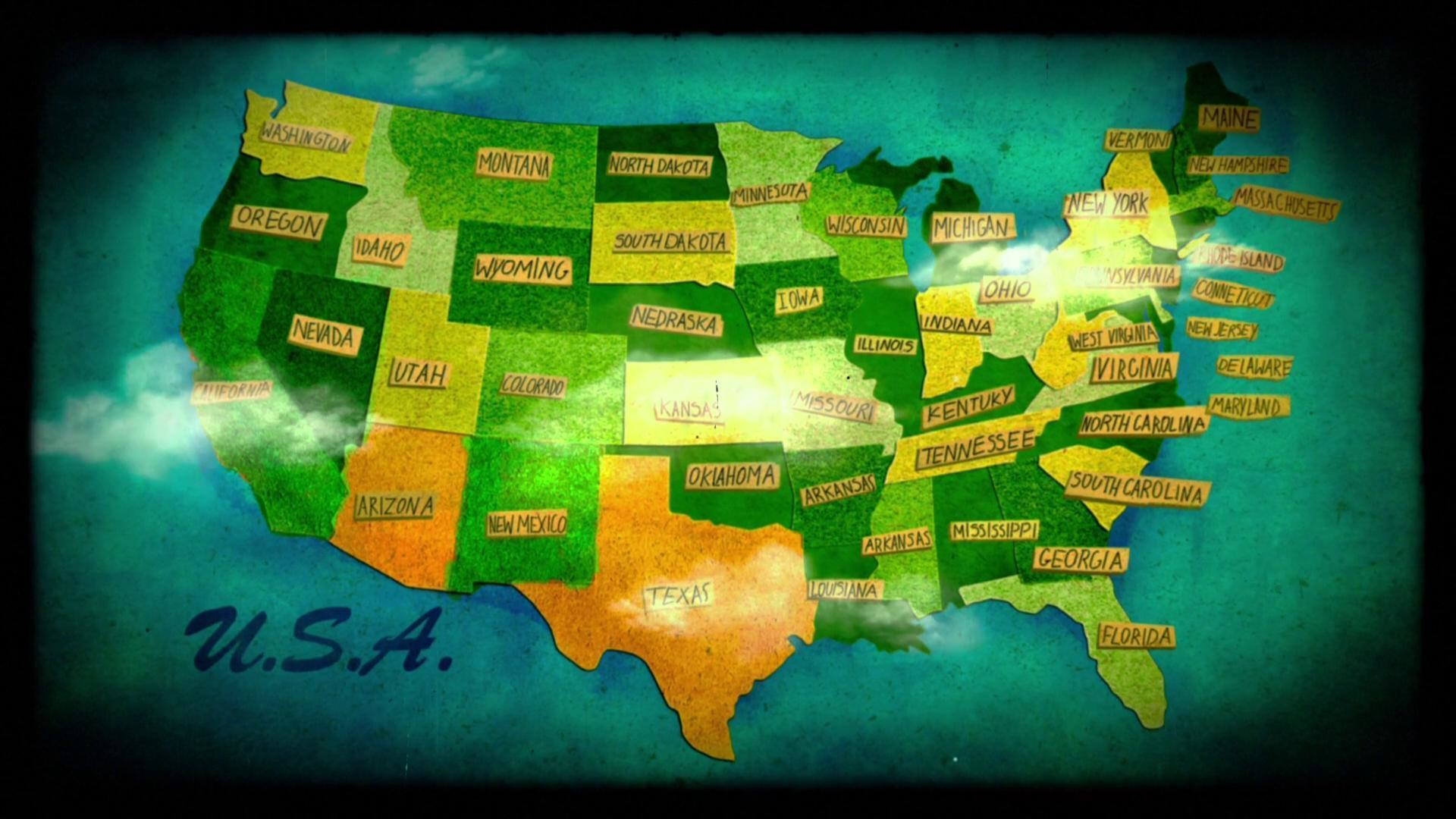 United States Map Wallpaper (52+ images)