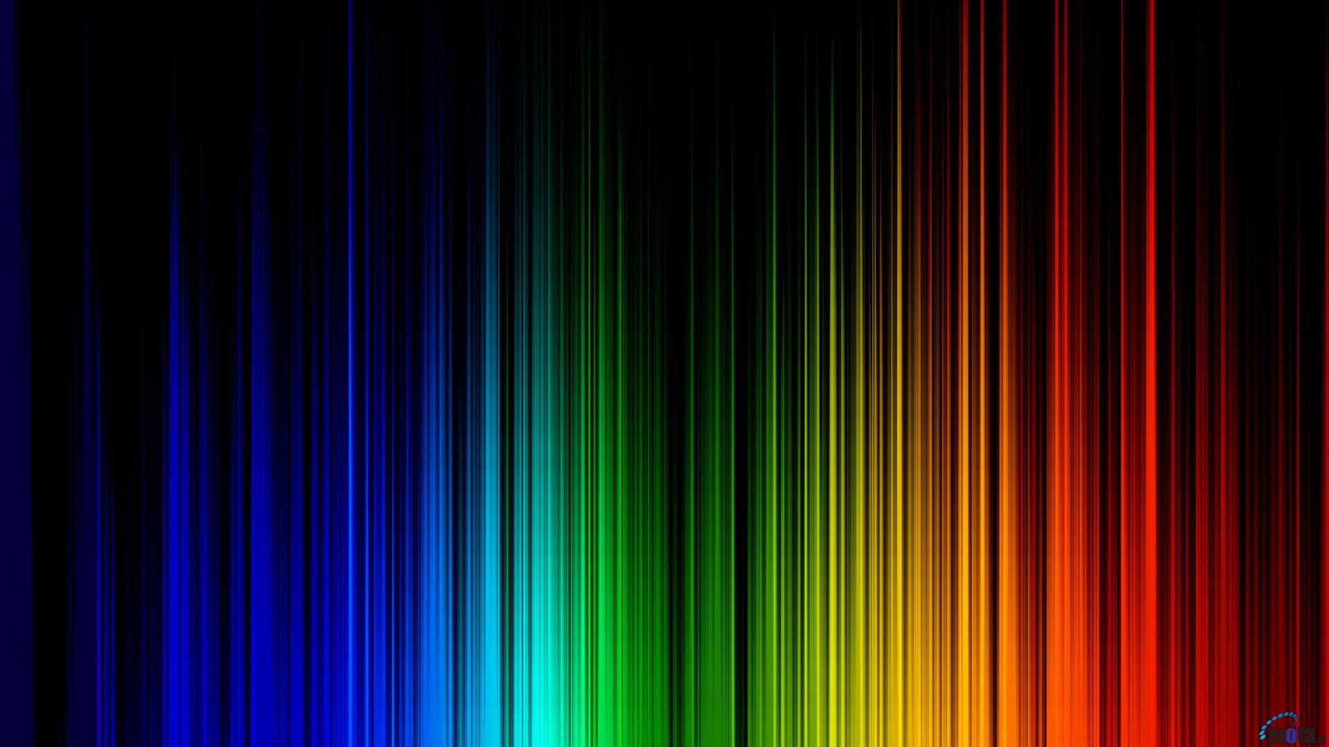 1920x1080 Rainbow Colors Background Wallpaper