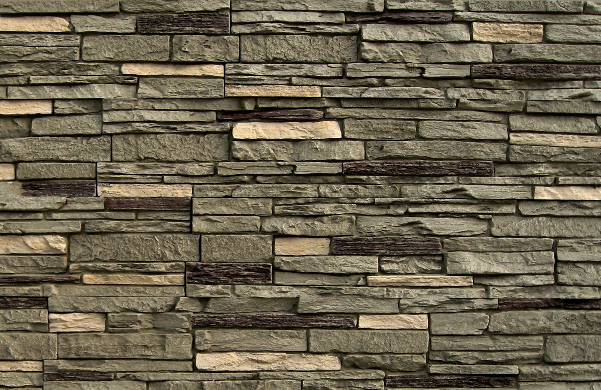 2000x1300 Brick Veneer Wallpaper Outstanding 3d Stacked Stone Wallpaper 3d Stone  Effect Wallpaper