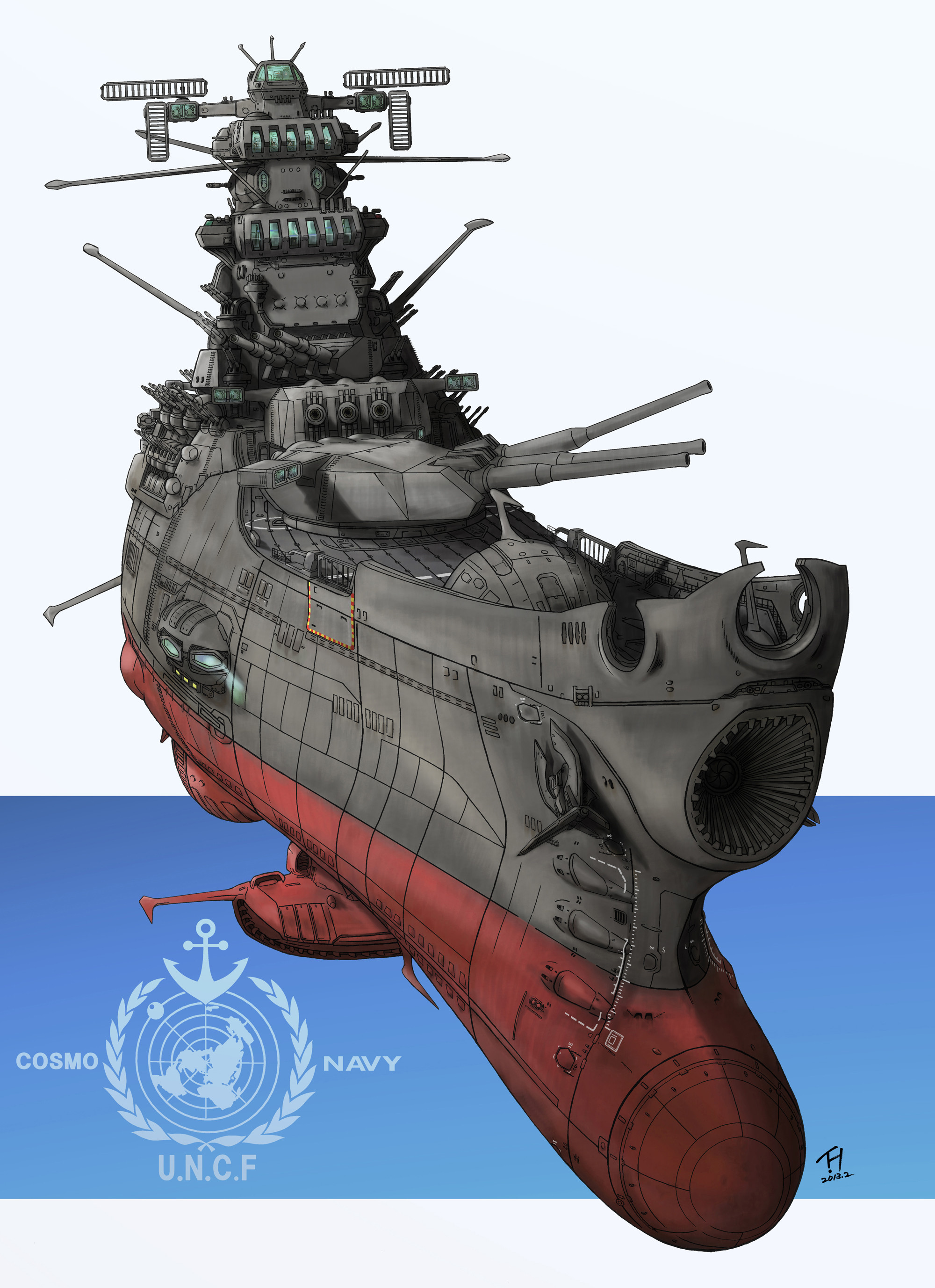 Space Battleship Yamato 2199 Episode 23 Clipart 49 Photos On