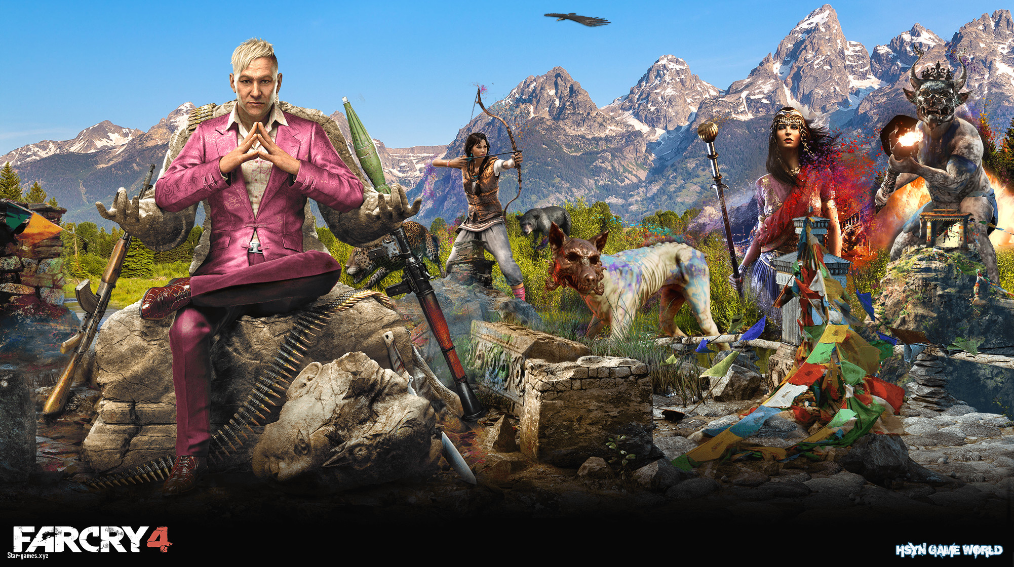2002x1120 ... Great Far Cry 4 Wallpaper STAR GAMES WALLPAPER