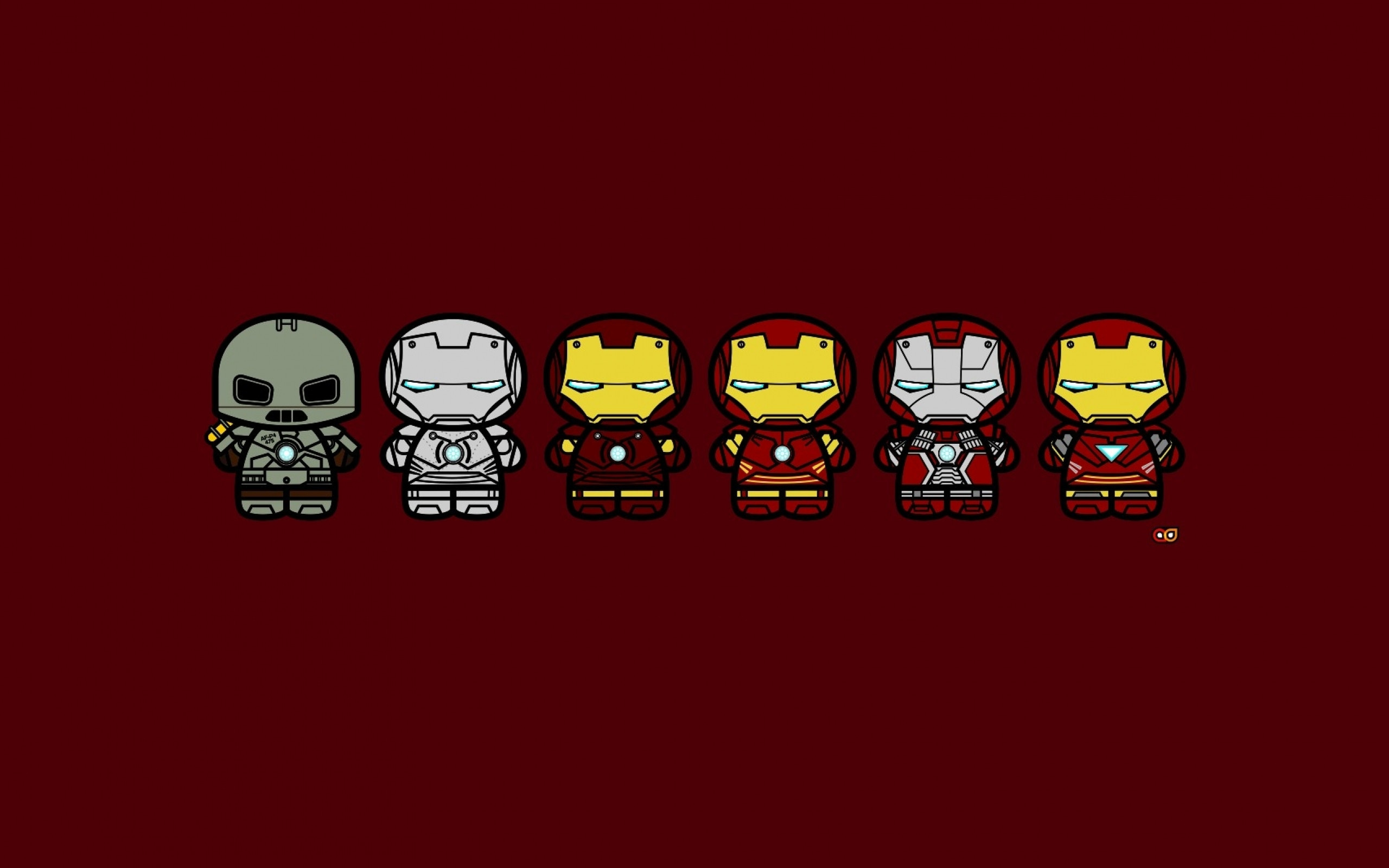 2560x1600 Ironman - Suit Evolution (x-post from wallpapers) ...