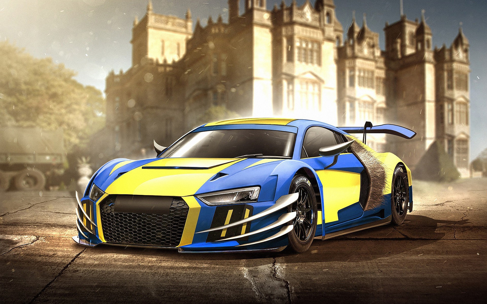1920x1200 Audi r8 wolverine wallpapers hd hintergrundbild prix - small