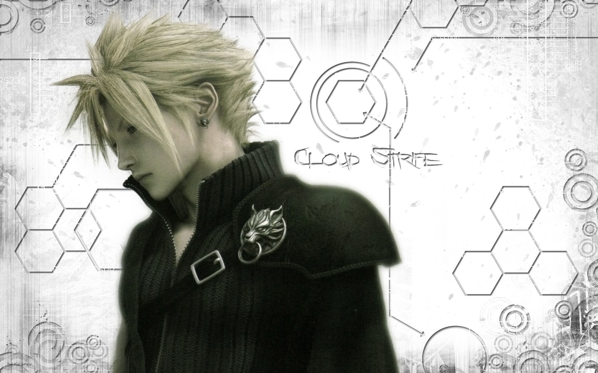 1920x1200 ... Final Fantasy Cloud Strife Wallpapers Group (64 ) ...