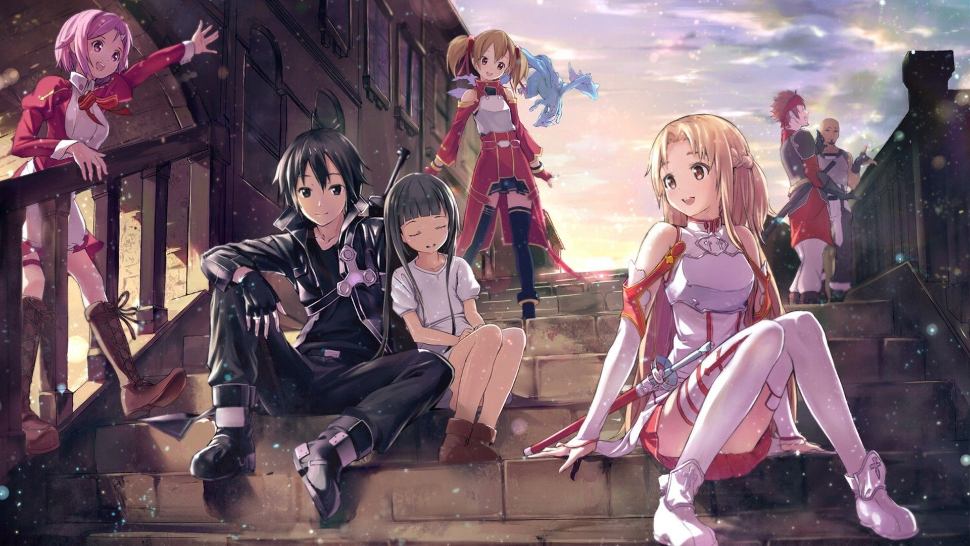 1920x1080 Sword Art Online Wallpaper Full Hd