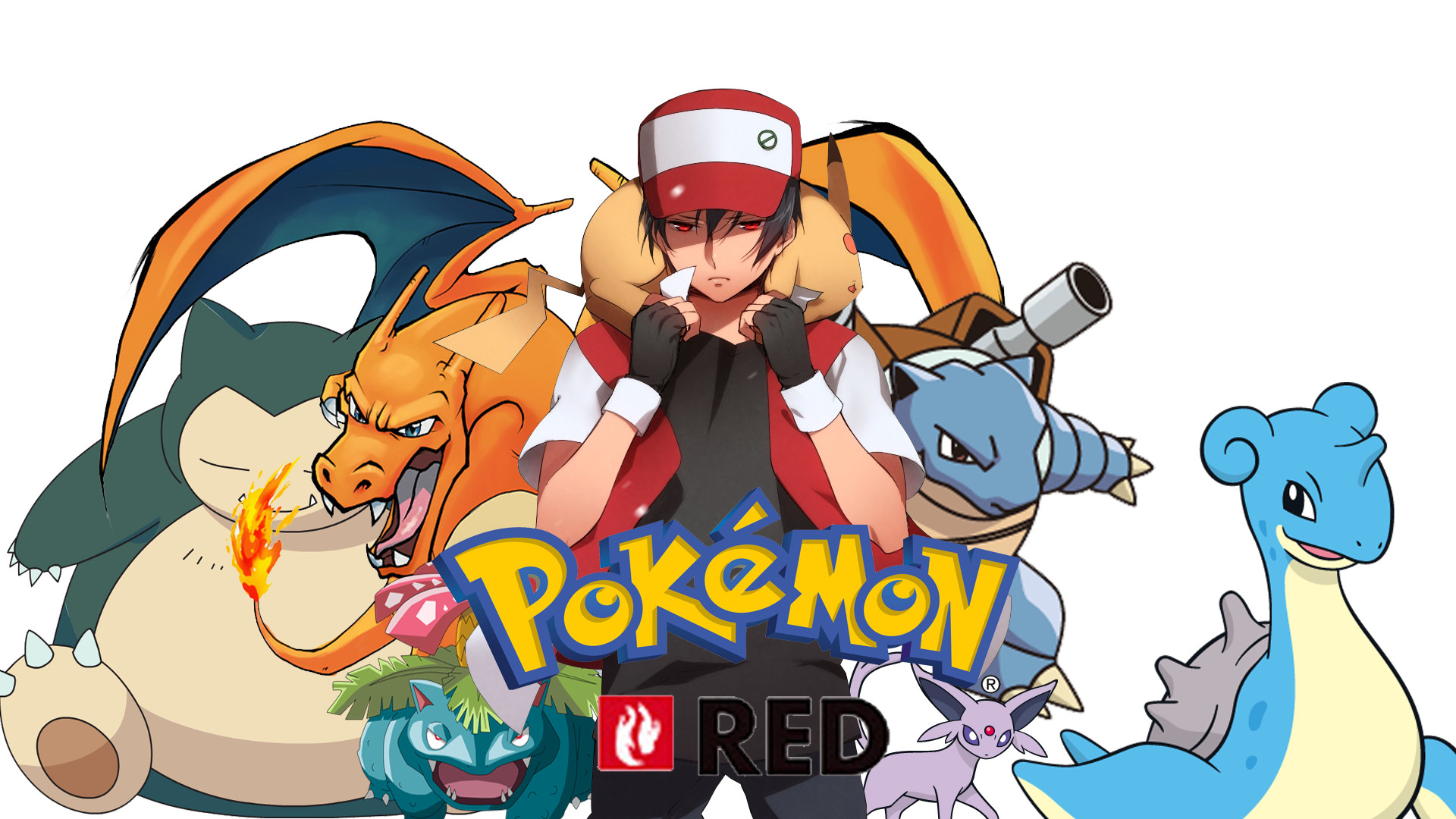 1920x1080 Pokemon Red Wallpaper Widescreen On Wallpaper 1080p HD
