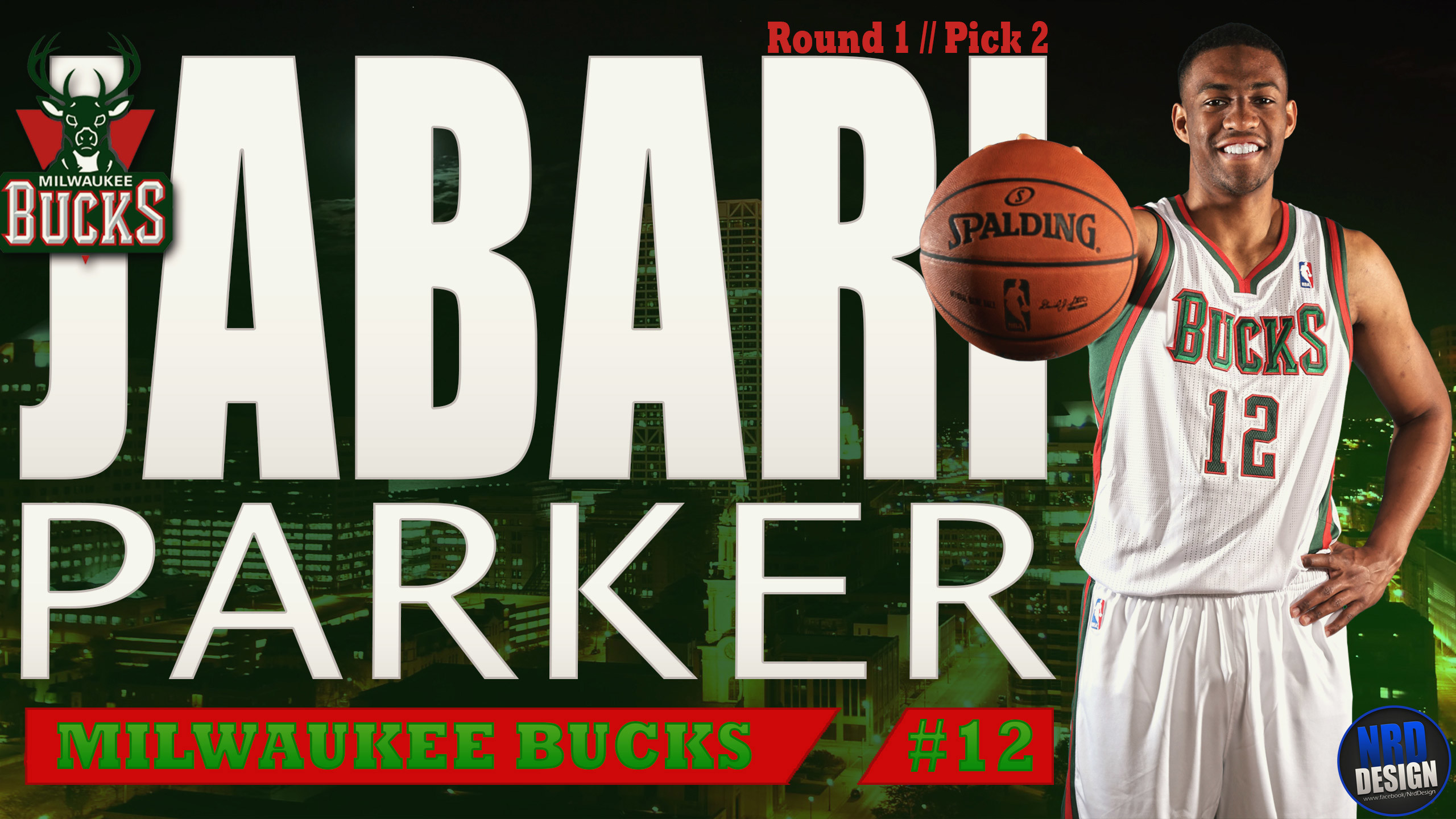 2560x1440 Jabari Parker 2014 Milwaukee Bucks Wallpaper