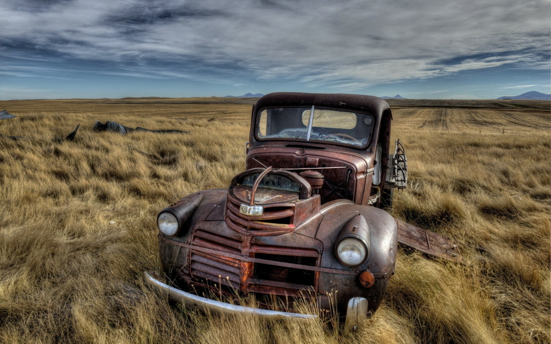 1920x1200 Vintage Ford Truck HD Wallpaper on MobDecor