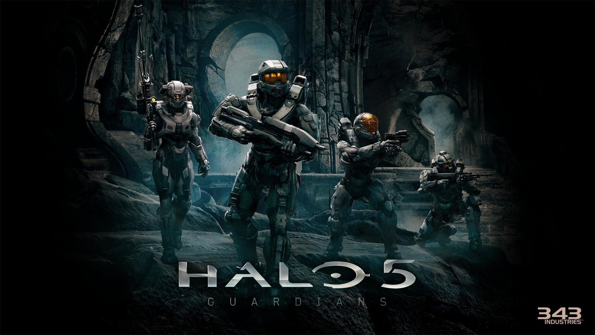 Halo 5 blue team wallpaper 76 images - Halo 5 guardians wallpaper 1920x1080 ...
