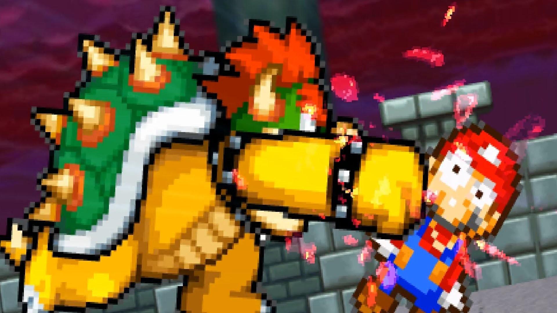 Mario vs Bowser Wallpaper (72+ images)