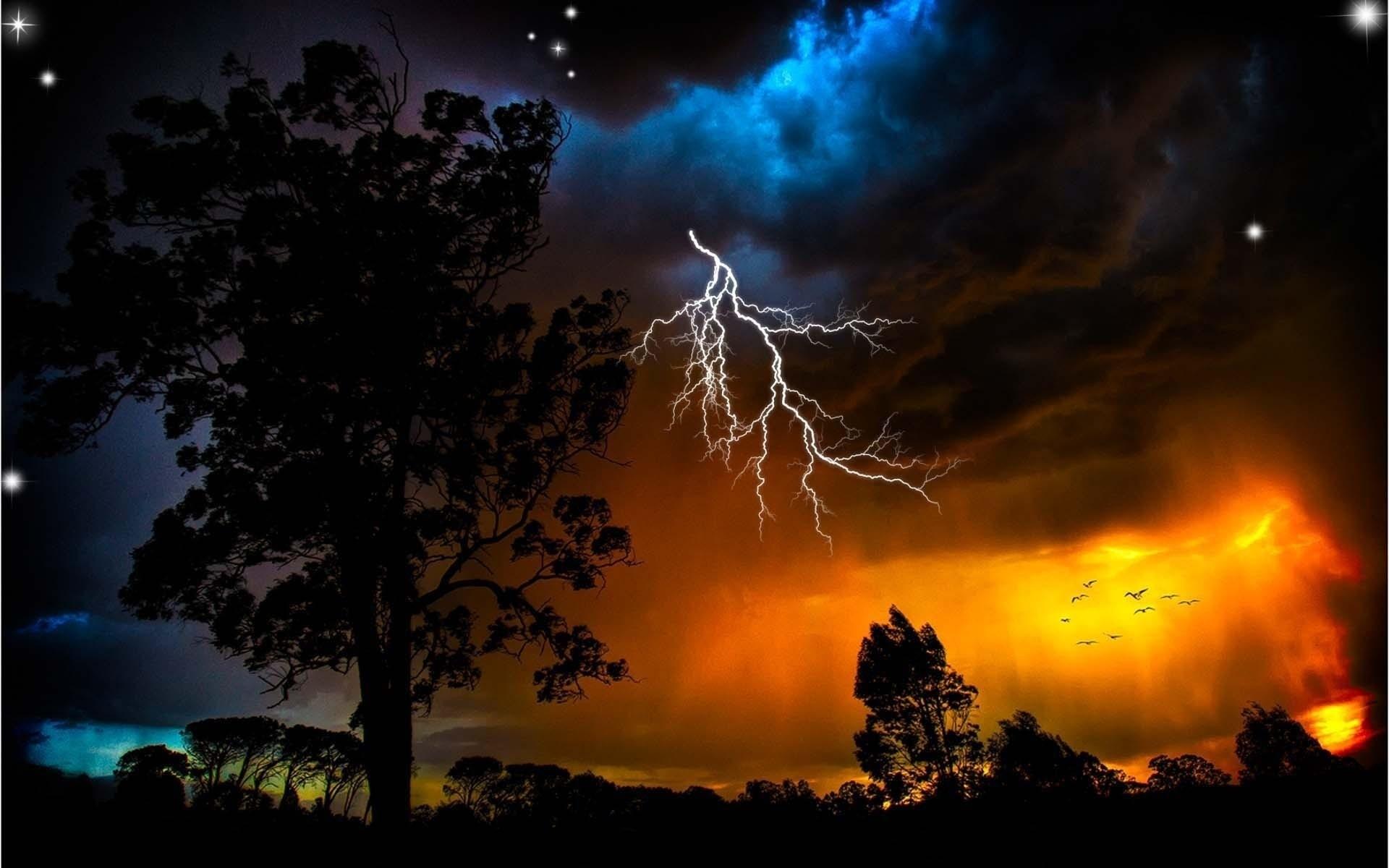 Cool Lightning Backgrounds 73 Images