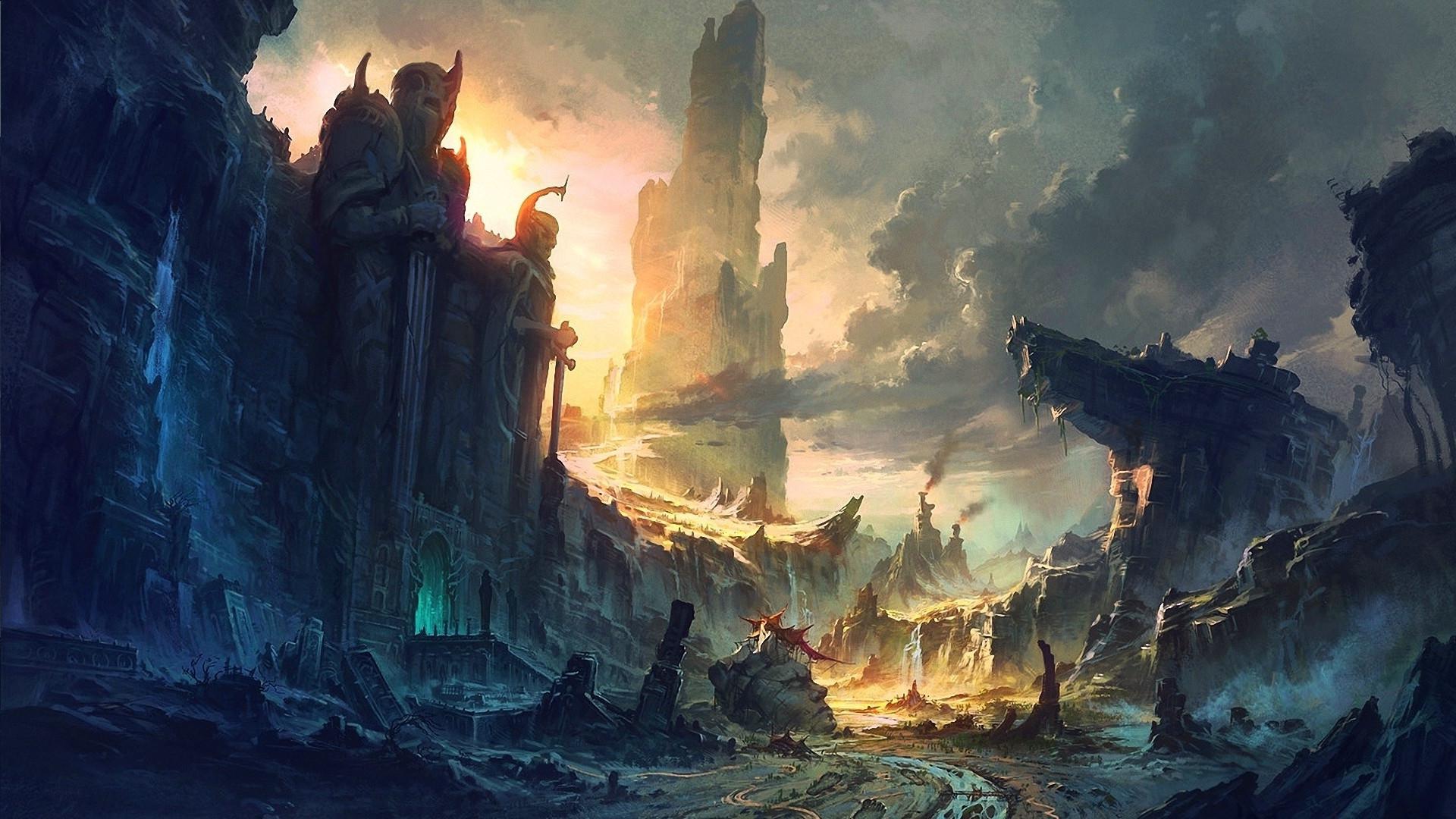 Fantasy Art Backgrounds 79 Images
