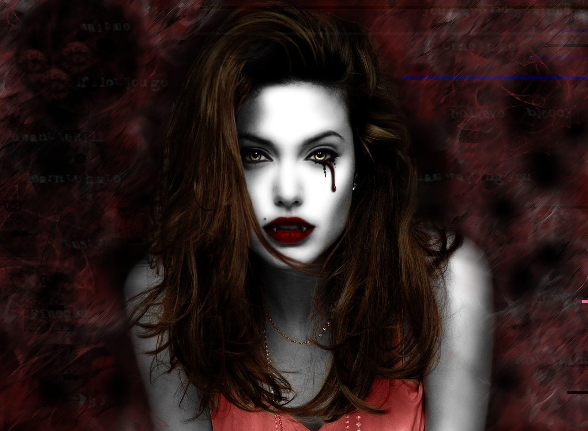 Fantasy Art Vampires Wallpapers Hd Desktop And Mobile: Female Vampire Wallpaper (67+ Images