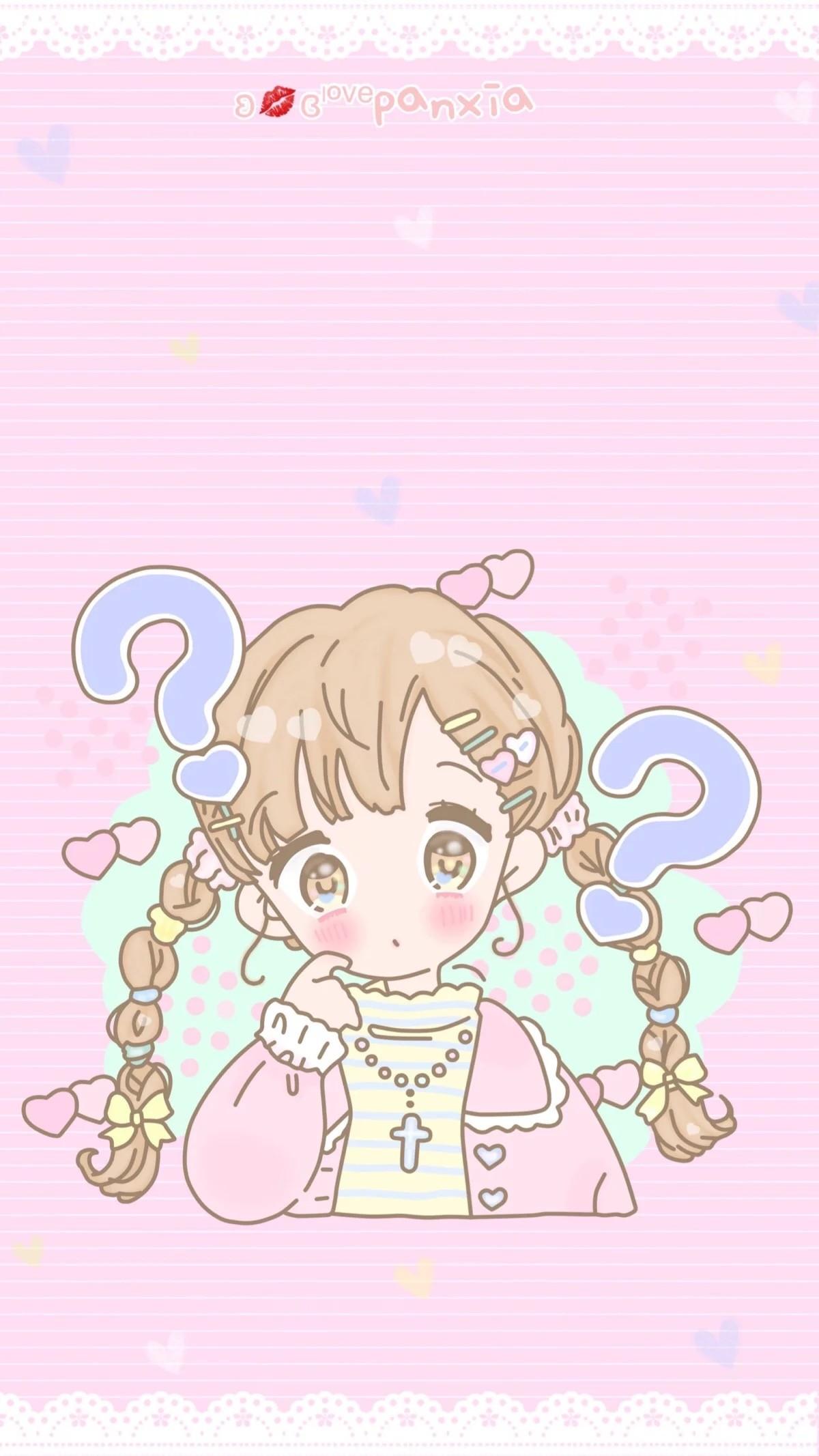 X Pastel Walls Kitty Wallpaper Phone Wallpapers Hello Kitty Kawaii Glitter Girly Dots Screen