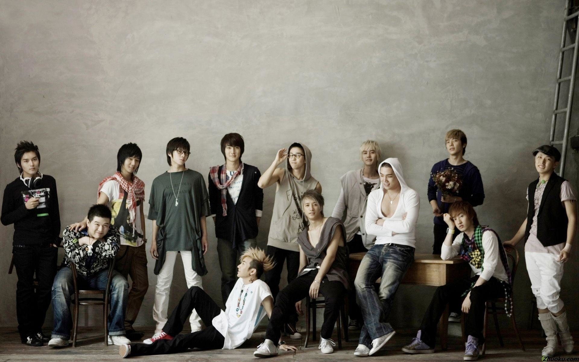 1920x1200 Super Junior Wallpapers For Computer #6531 Wallpaper | Risewall.