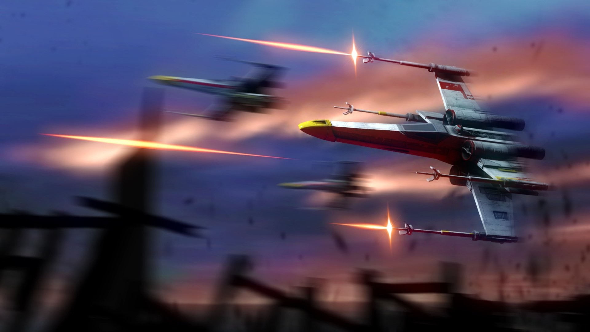 1920x1080 star wars x-wing fan art fiction