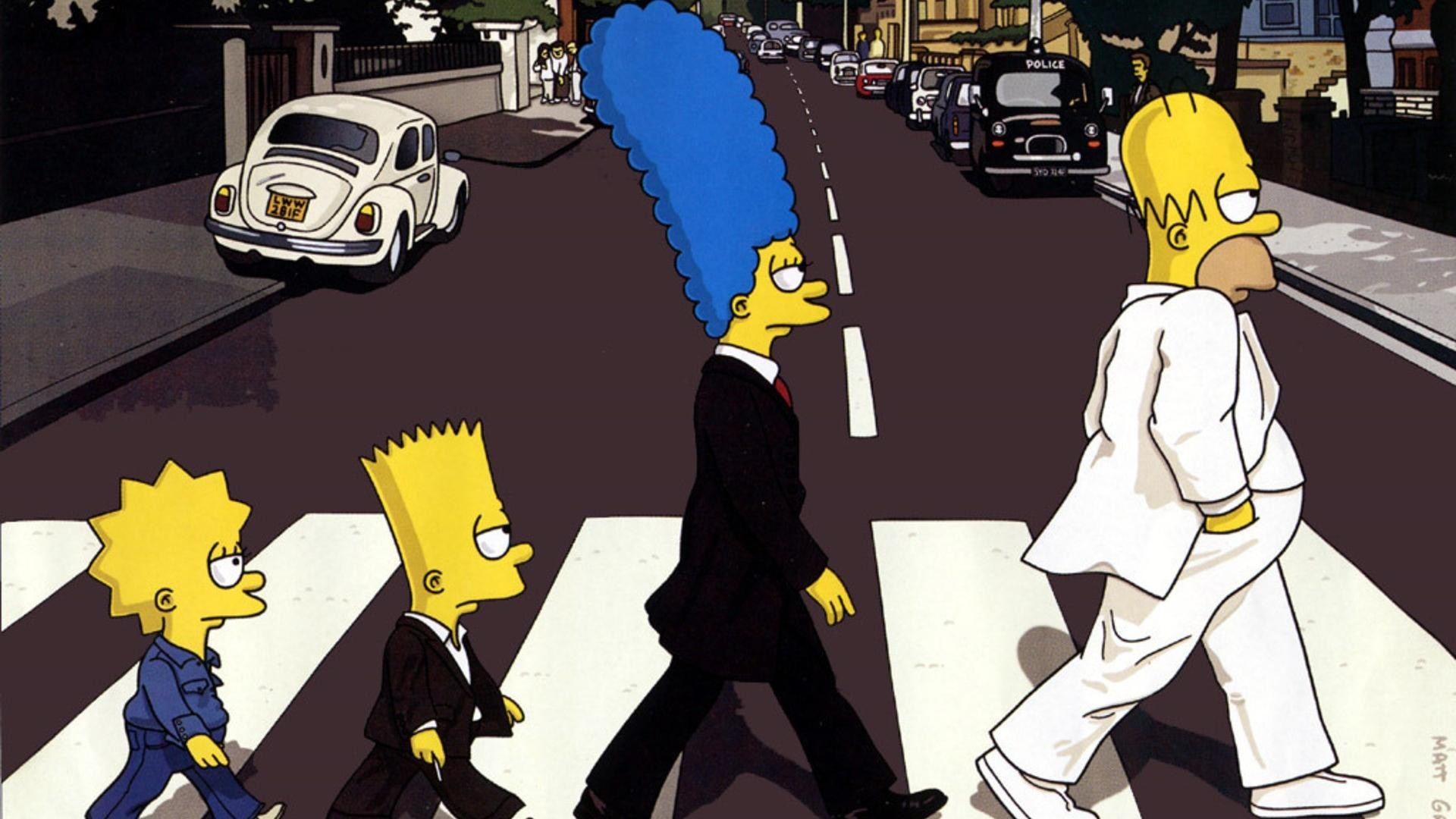 1920x1080 Funny Cartoon Simpsons Pictures HD Wallpaper