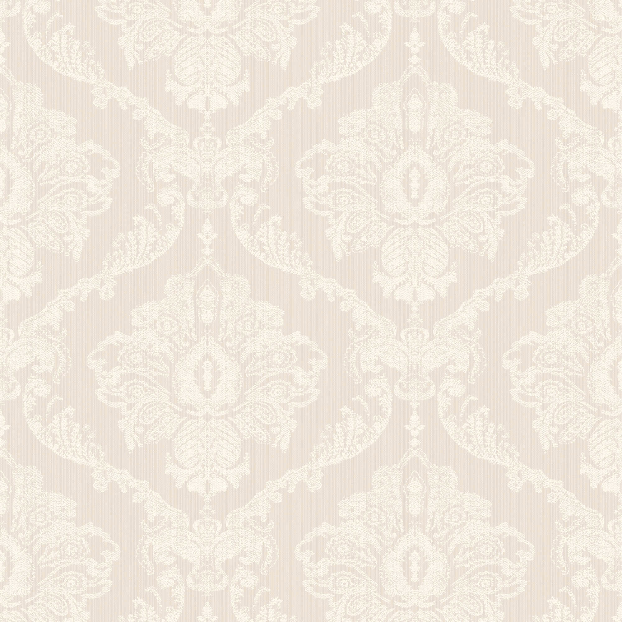 2000x2000 Dorma Natural Aveline Damask Wallpaper