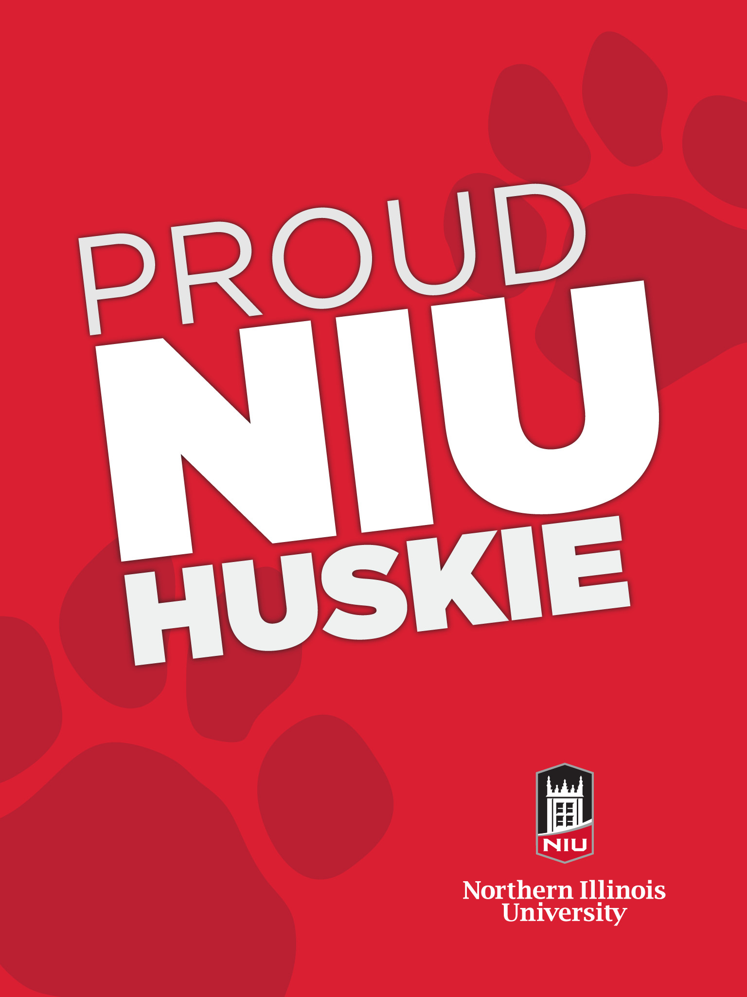 1536x2049 Proud Huskie, Proud Huskie - Red for iPad ...