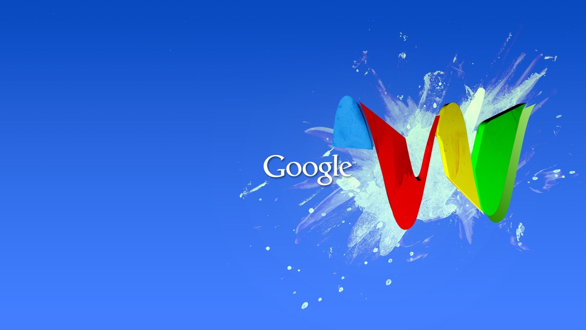 2048x1152 Preview wallpaper google, blue, red, yellow, green