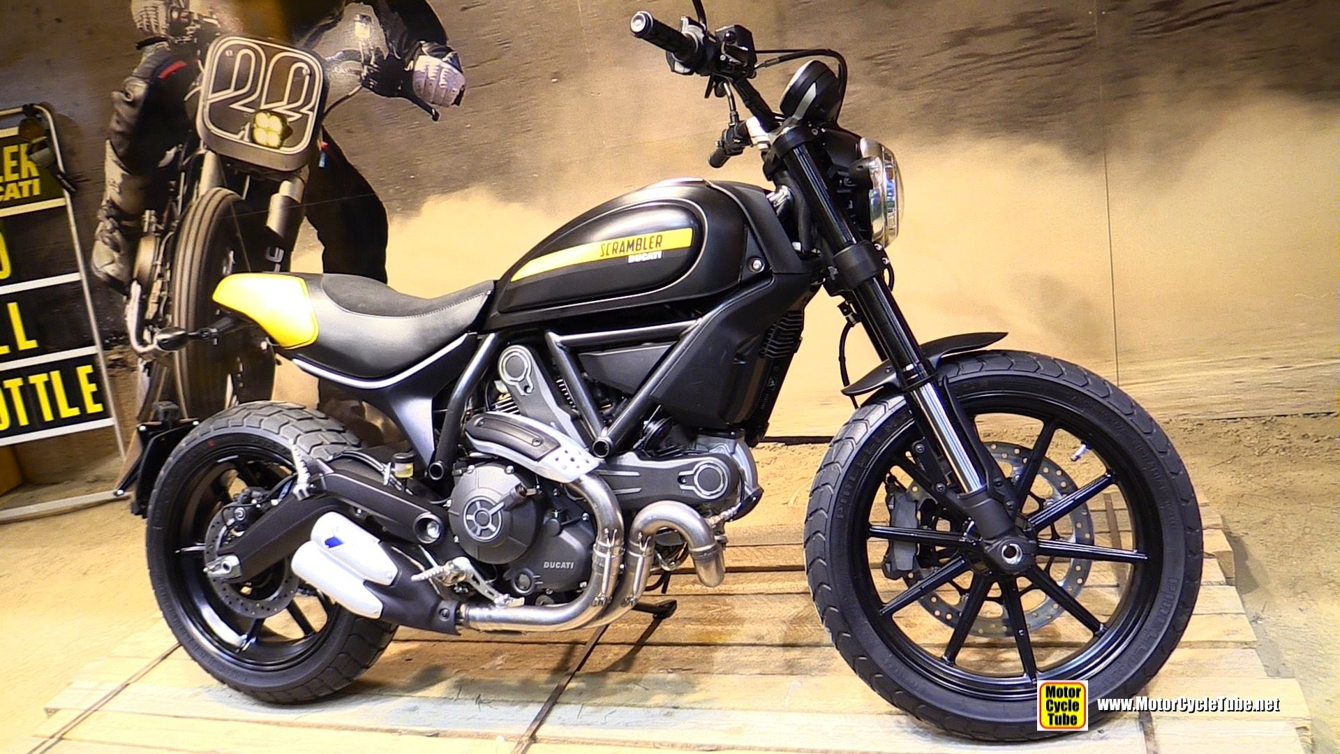 1920x1080 2015 Ducati Scrambler Full Throttle - Walkaround - 2014 EICMA Milan  Motorcycle Exhibition - YouTube