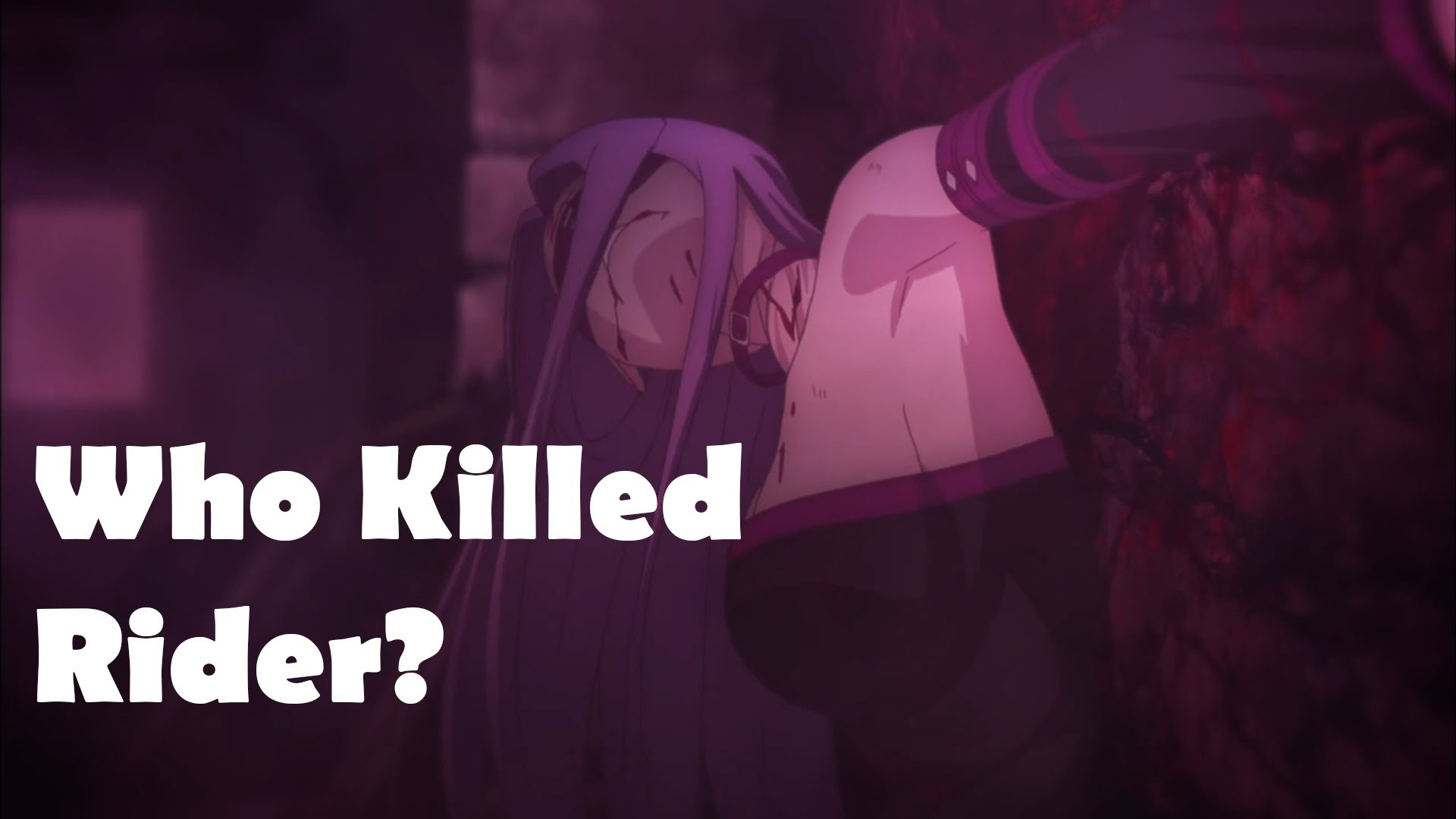 1920x1080 Fate/Stay Night Unlimited Blade Works Episode 8 フェイト/ステイナイト Anime Review -  Who killed Rider? 2014 - YouTube