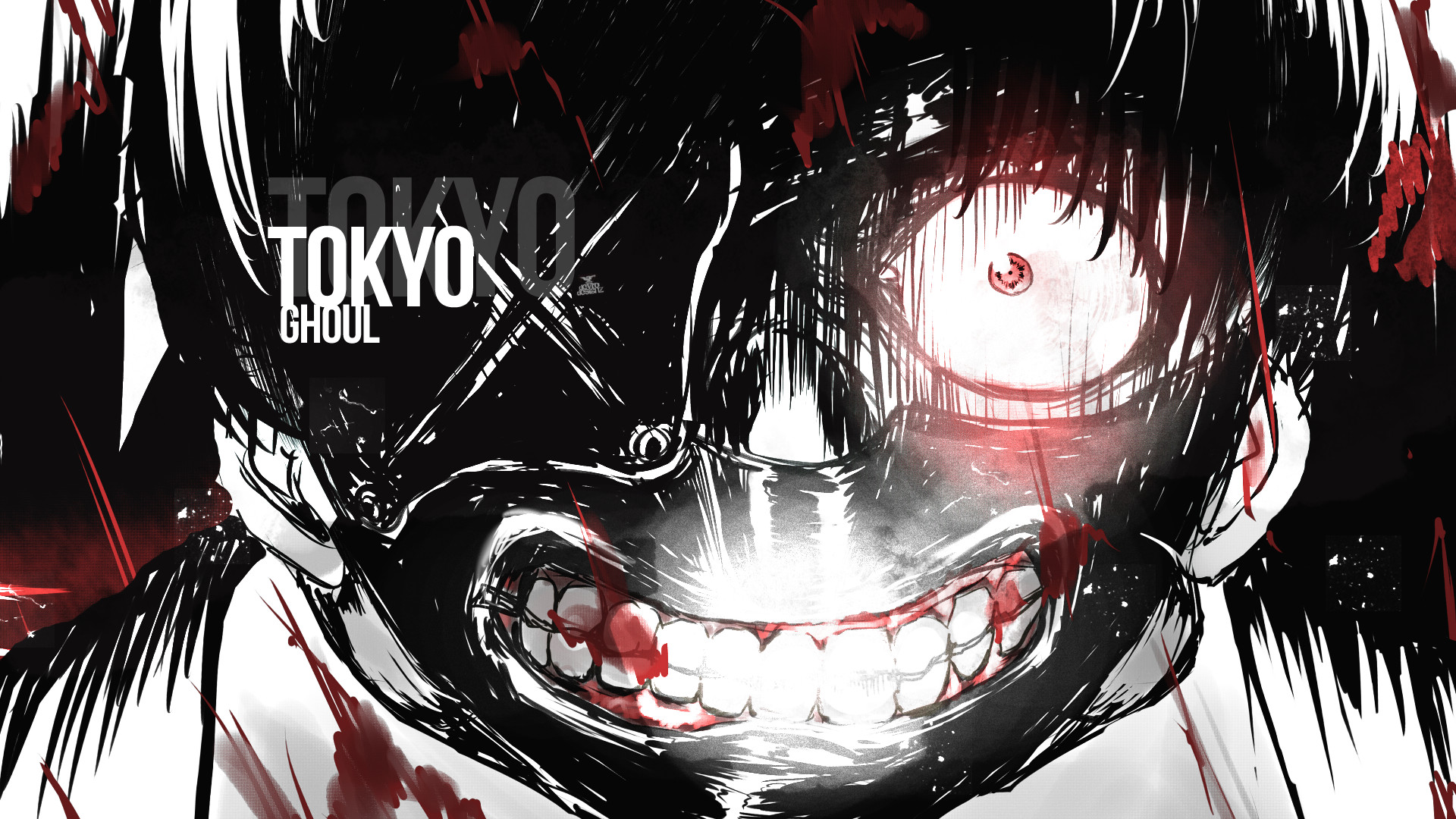 1920x1080 Tokyo Ghoul by Z0MB33 on DeviantArt
