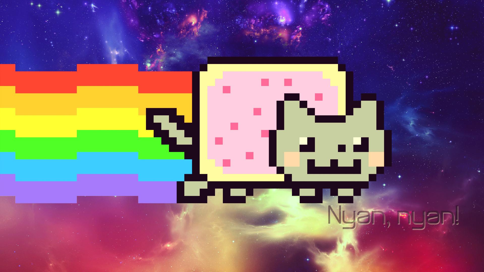 Nyan Cat Wallpapers 74 Images