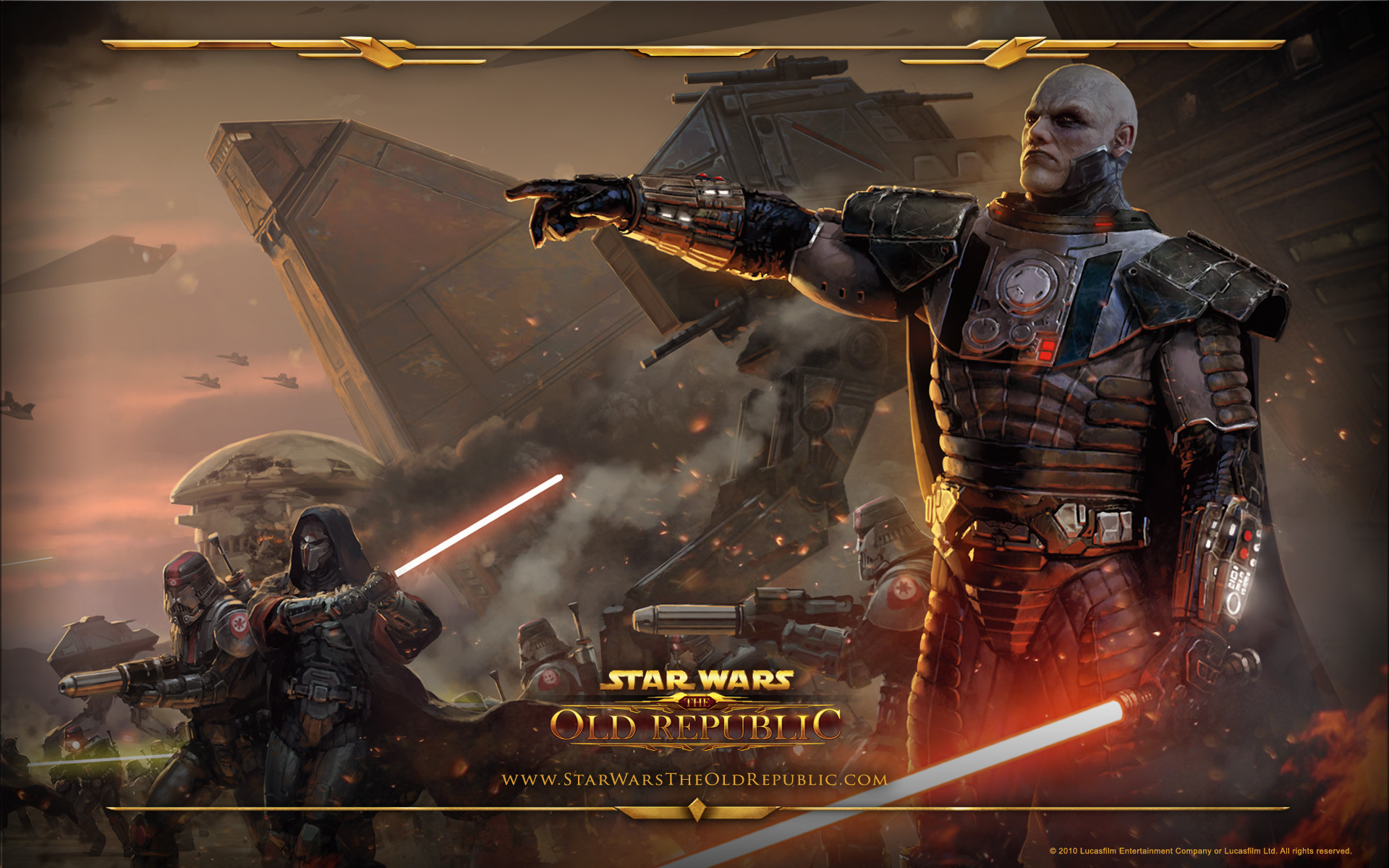 1920x1200 Star Wars: The Old Republic Wallpaper Sith Armt
