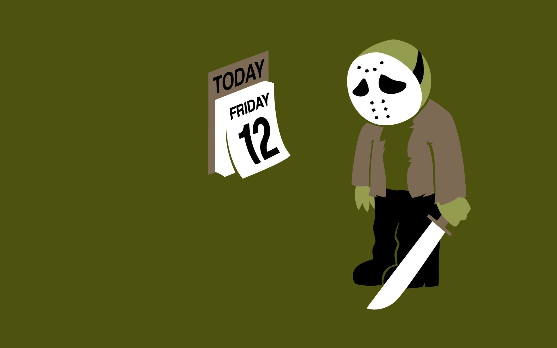 1920x1200 Friday the 13th jason voorhees funny wallpaper
