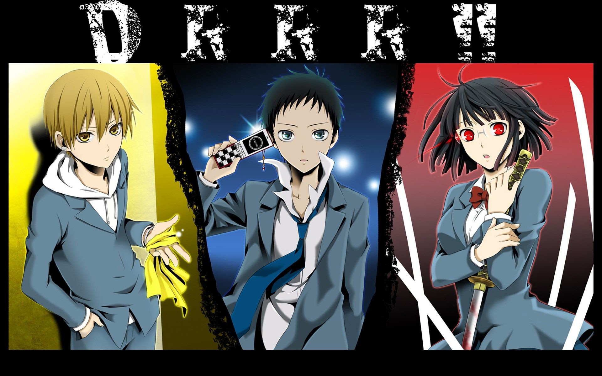 1920x1200 Durarara – Episode 4 – Utterly Alone