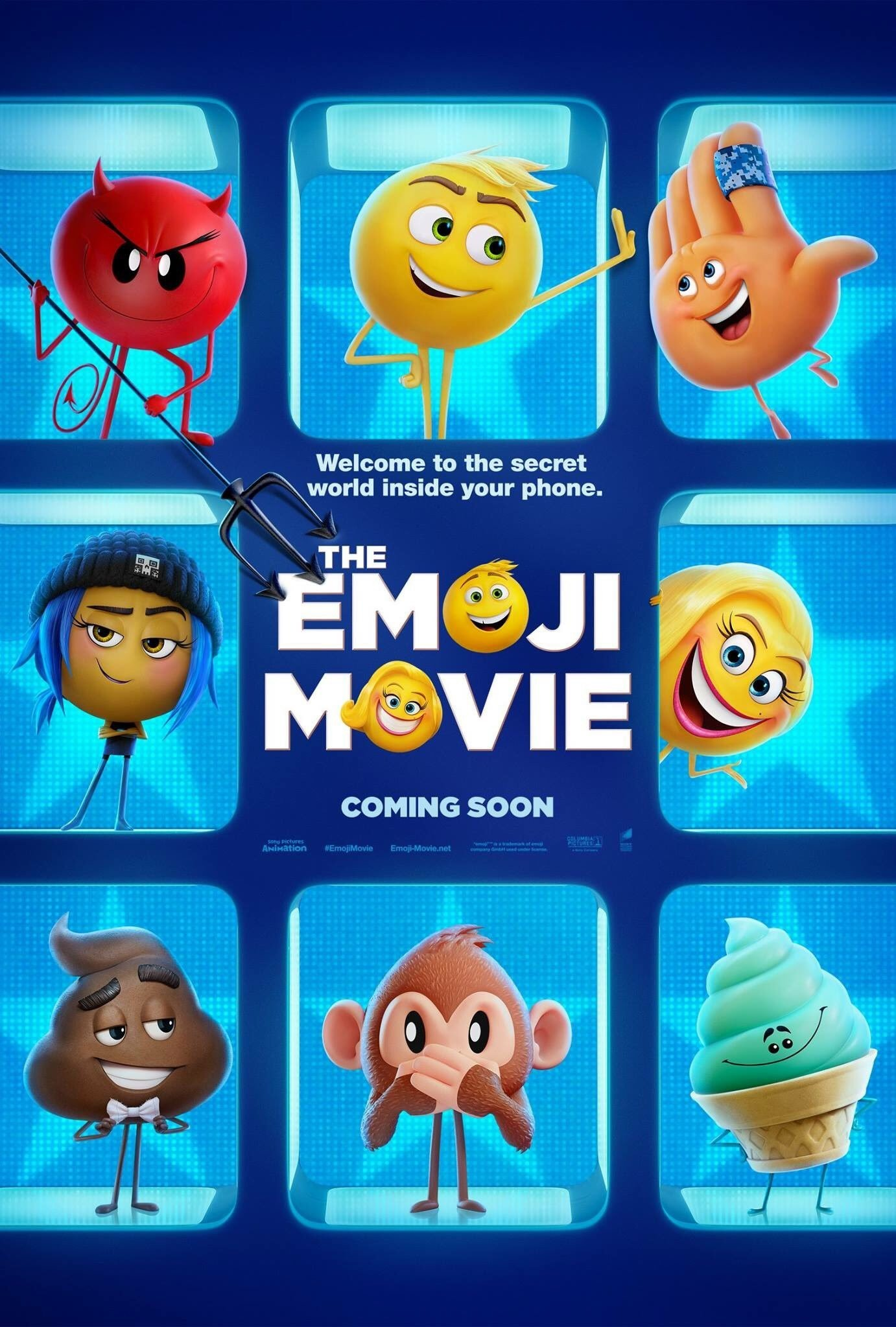 1382x2048 The Emoji Movie iPhone Desktop Wallpapers With 1382×2048