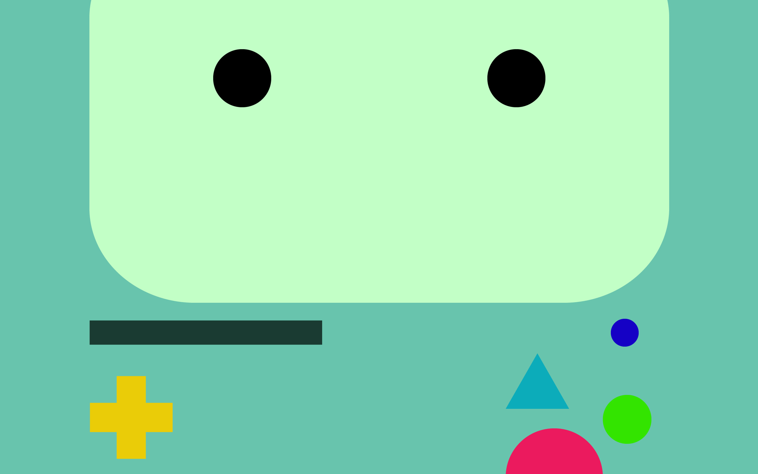 2560x1600 Beemo Wallpaper by marck2009