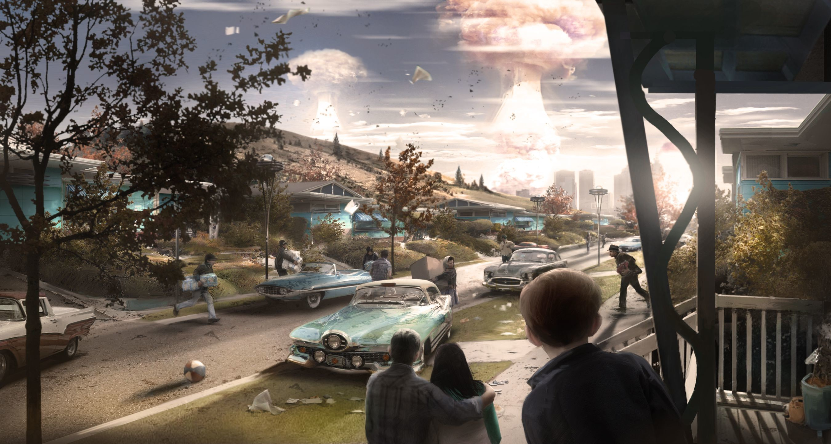 2700x1442 Fallout 4's concept art is wallpaper worthy