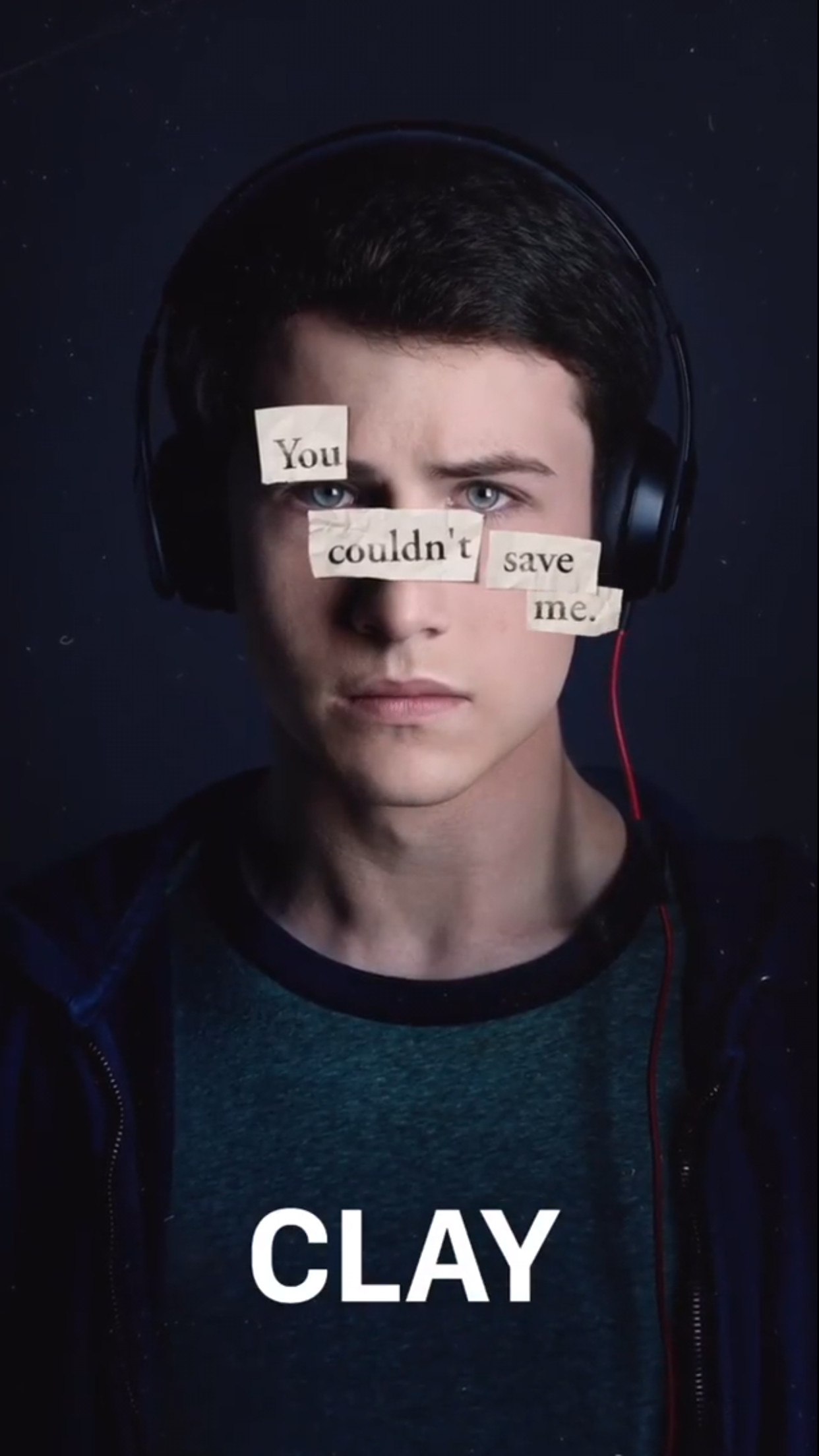 1242x2208 Dylan Minnette - 13 Reasons Why