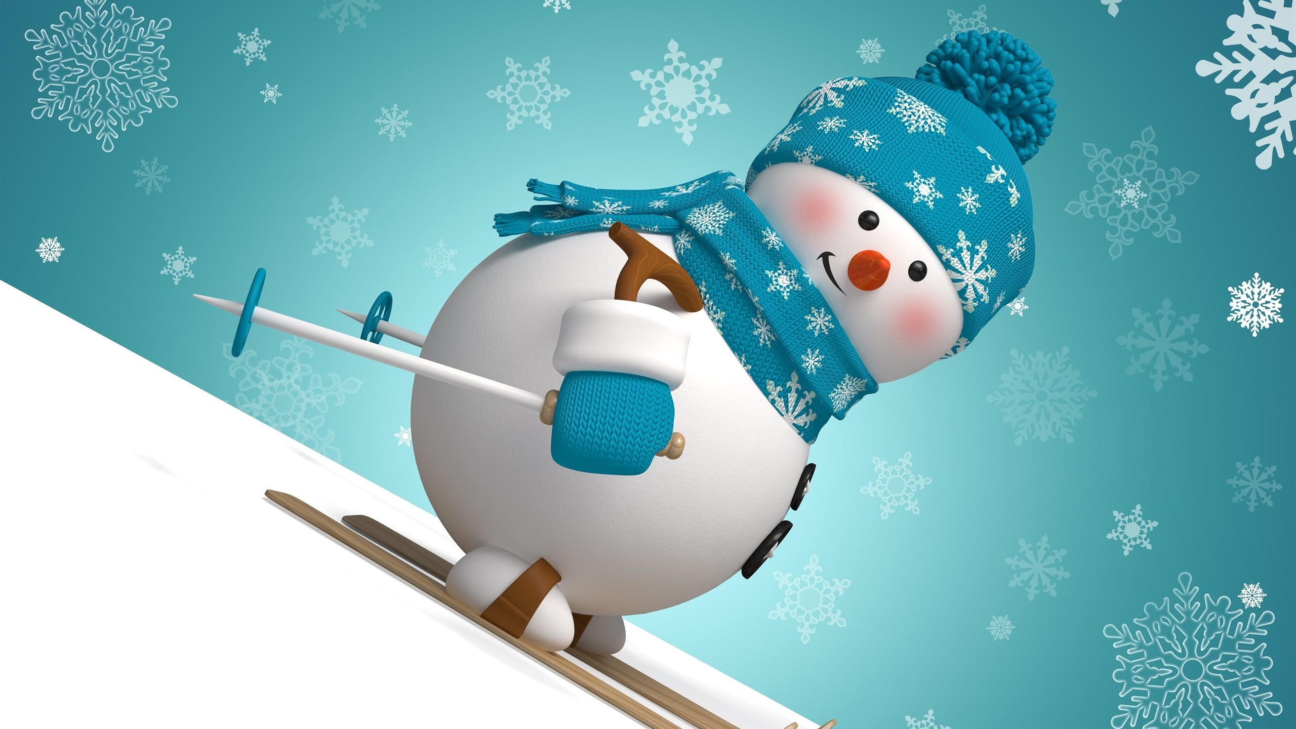 Winter Snowman Wallpaper 61 Images