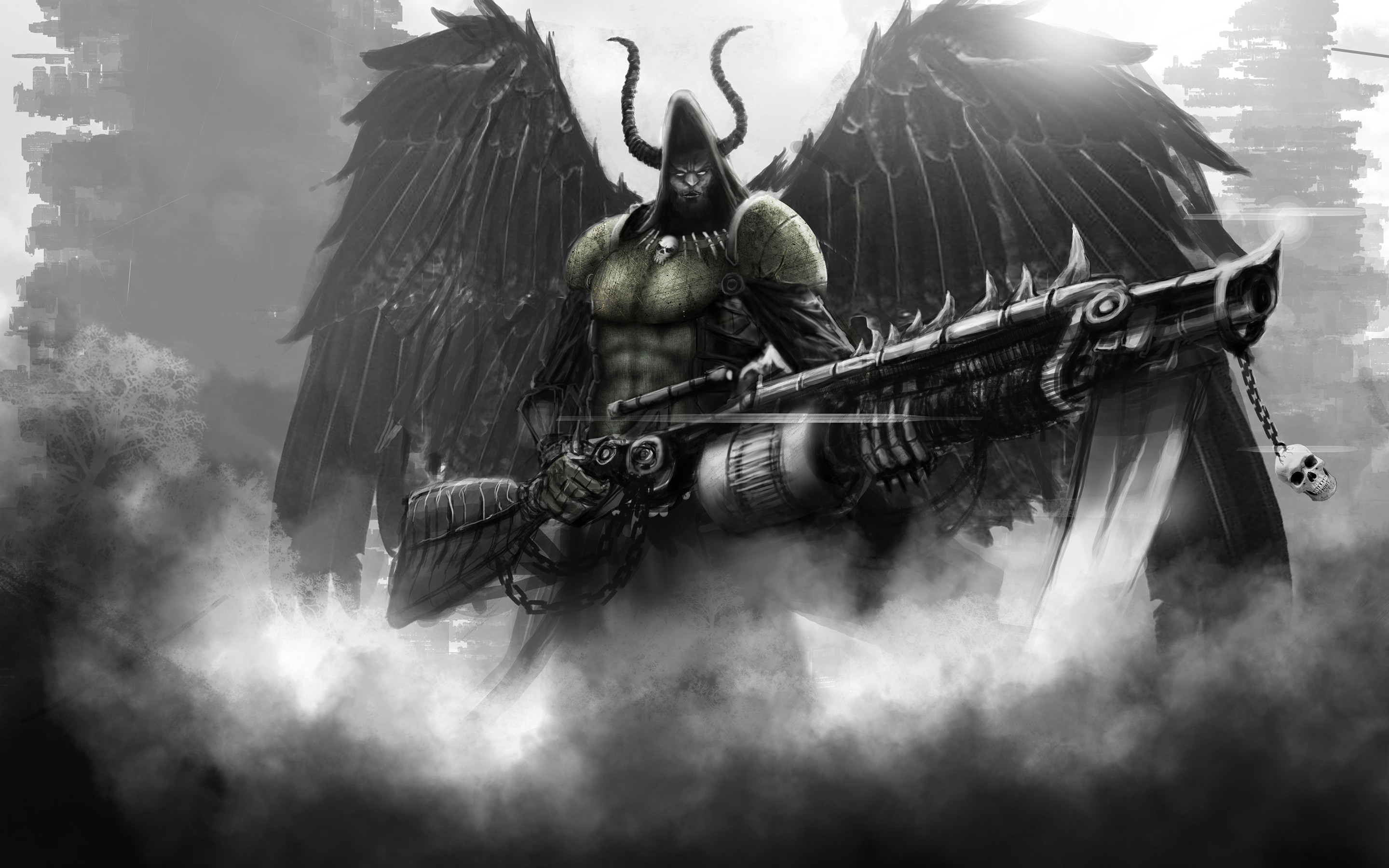2880x1800 angel of death wallpaper free for android free download on hd wallpapers pinterest