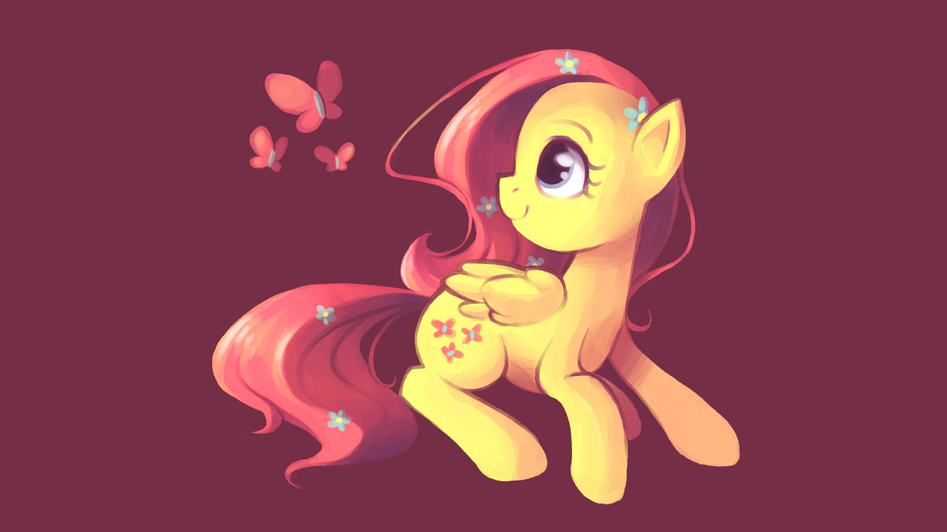 1920x1080 My Little Pony Fluttershy