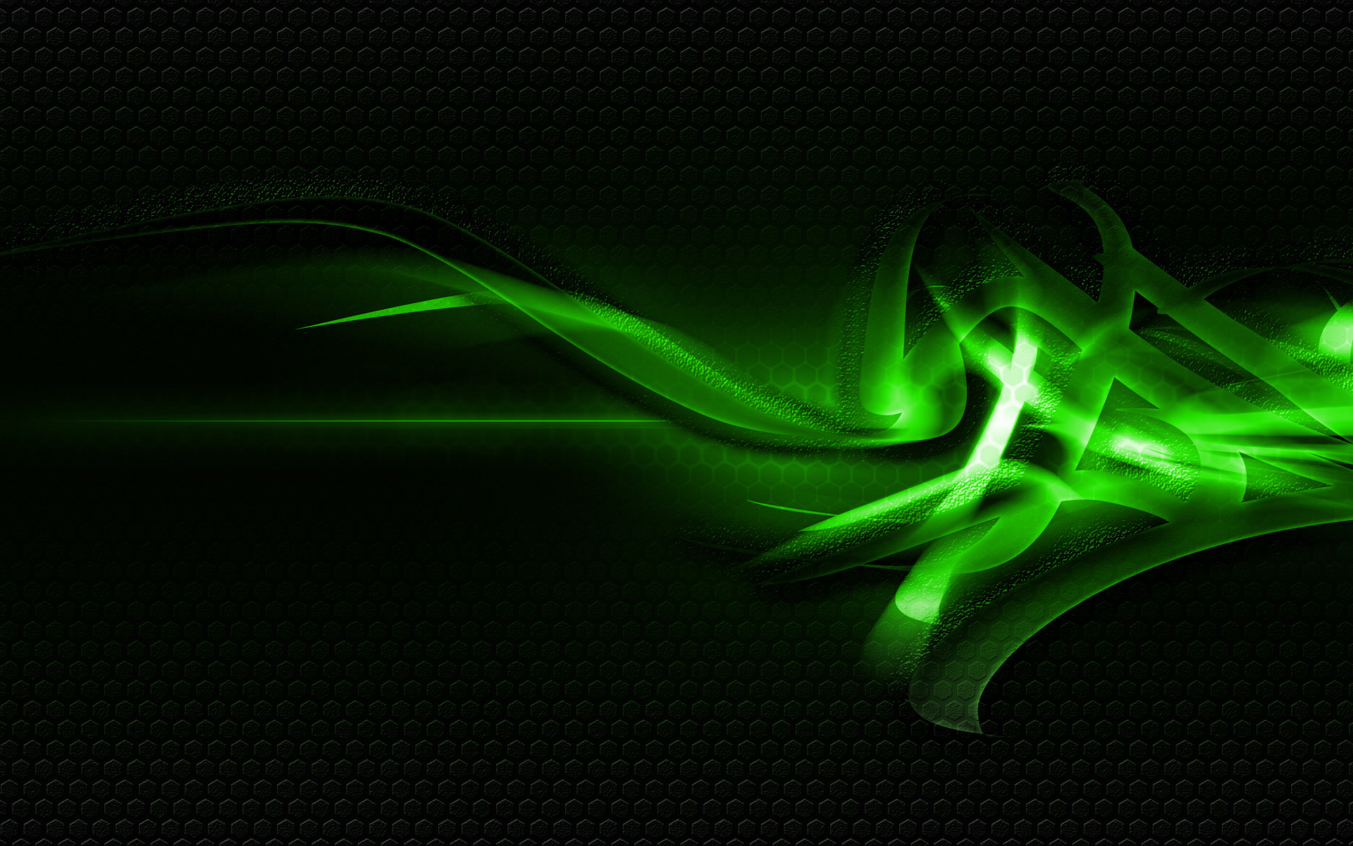 1920x1200 Green And Black Abstract Wallpaper 41 Background