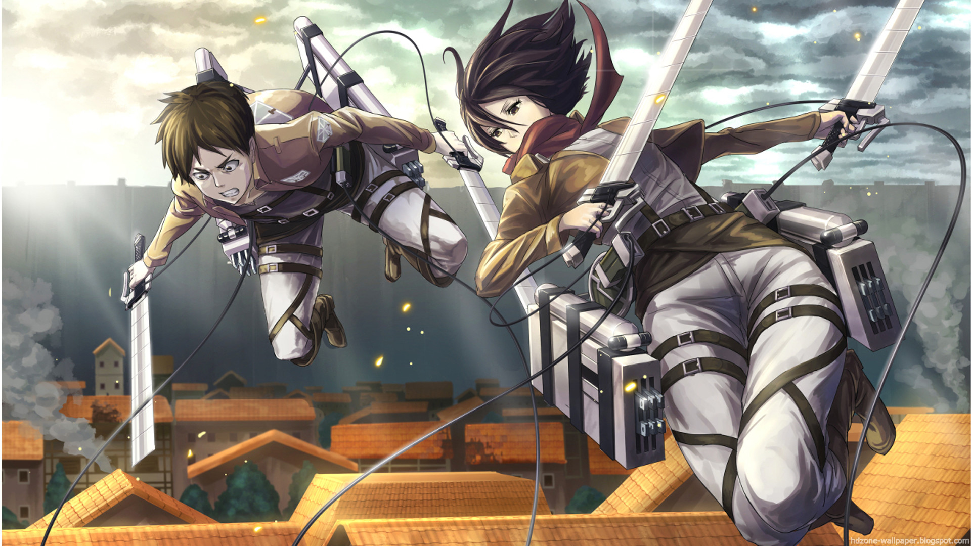 Eren And Levi Wallpaper 70 Images